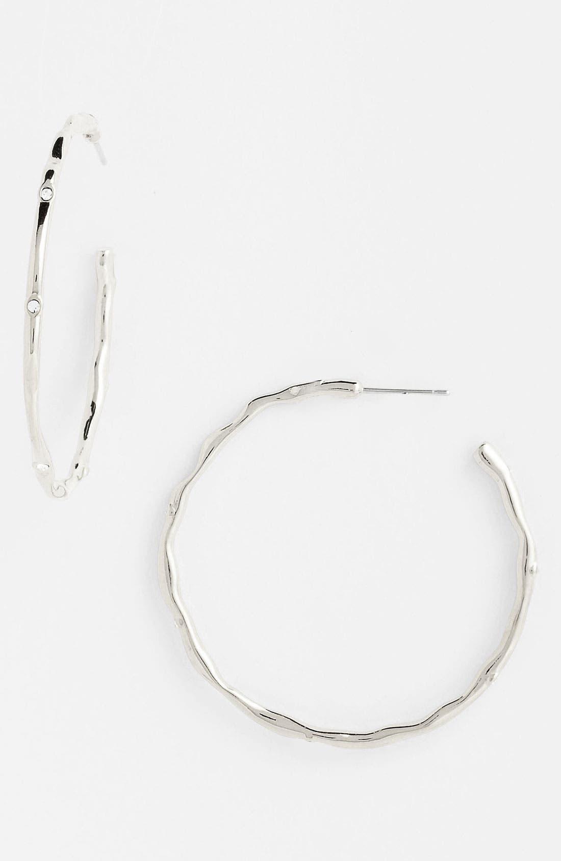 Alternate Image 1 Selected - Nadri Large Hoop Earrings