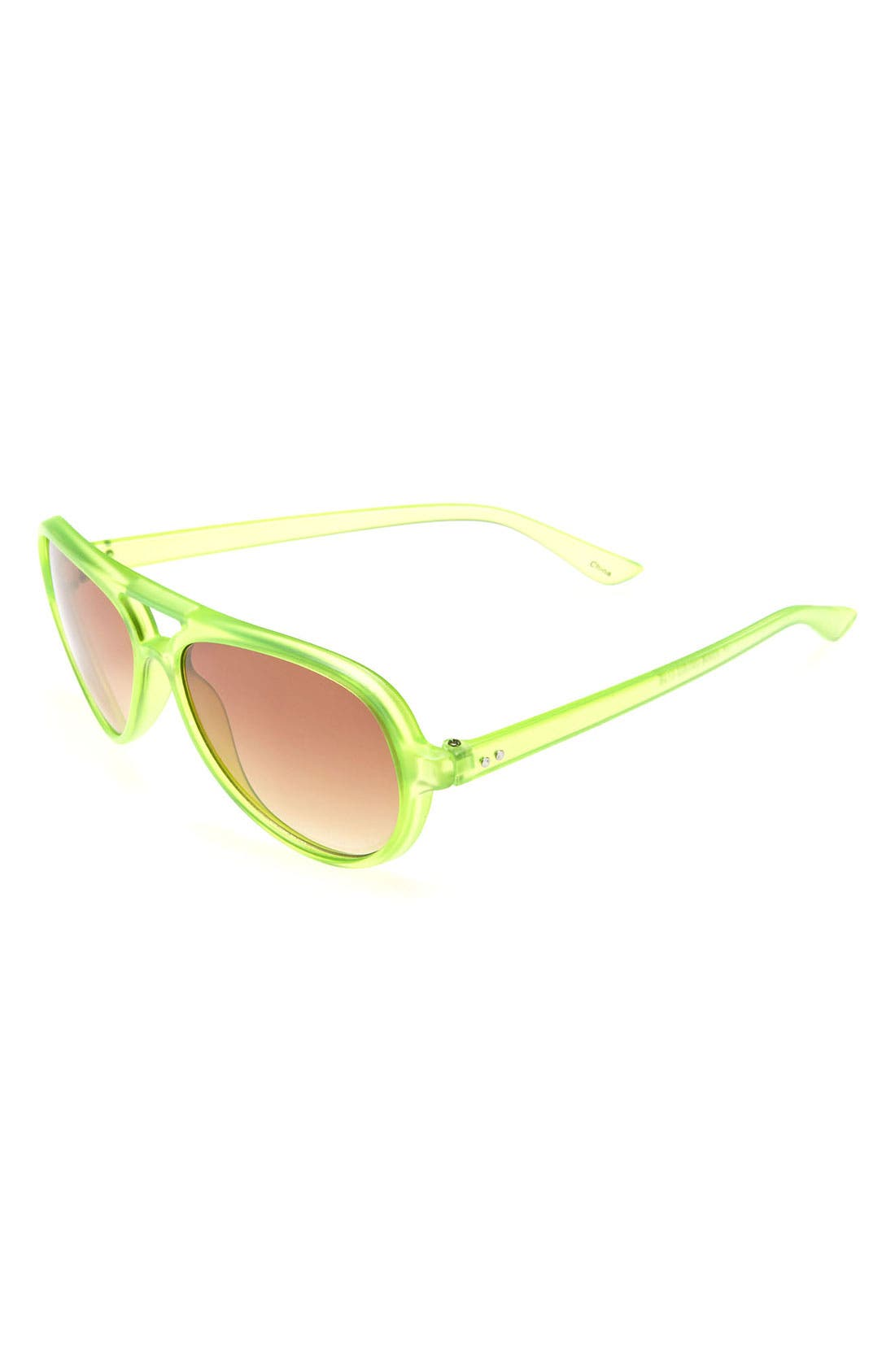Alternate Image 1 Selected - Icon Eyewear Aviator Sunglasses (Boys)