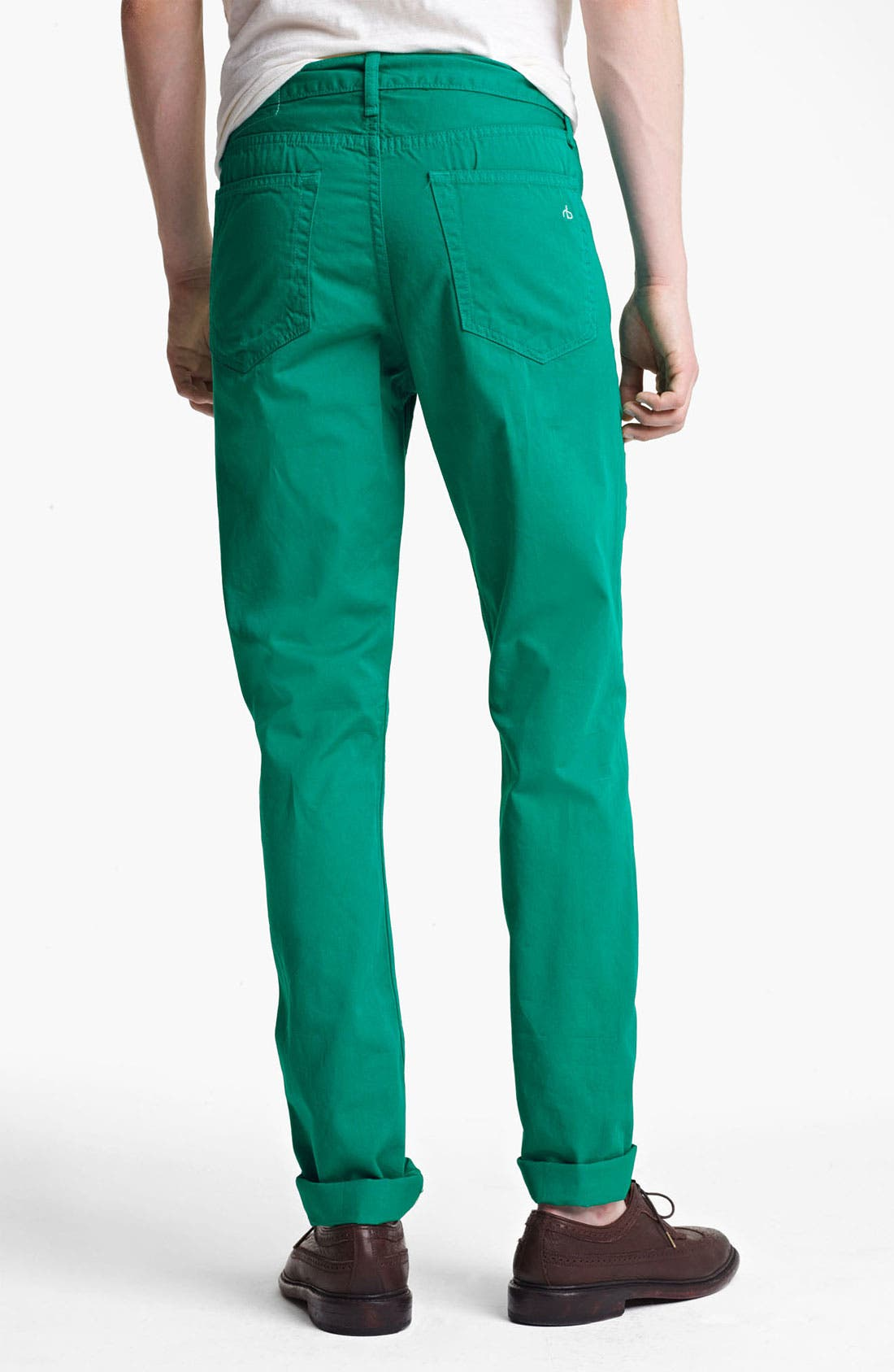 Alternate Image 3  - rag & bone 'RB15X' Slim Straight Leg Jeans