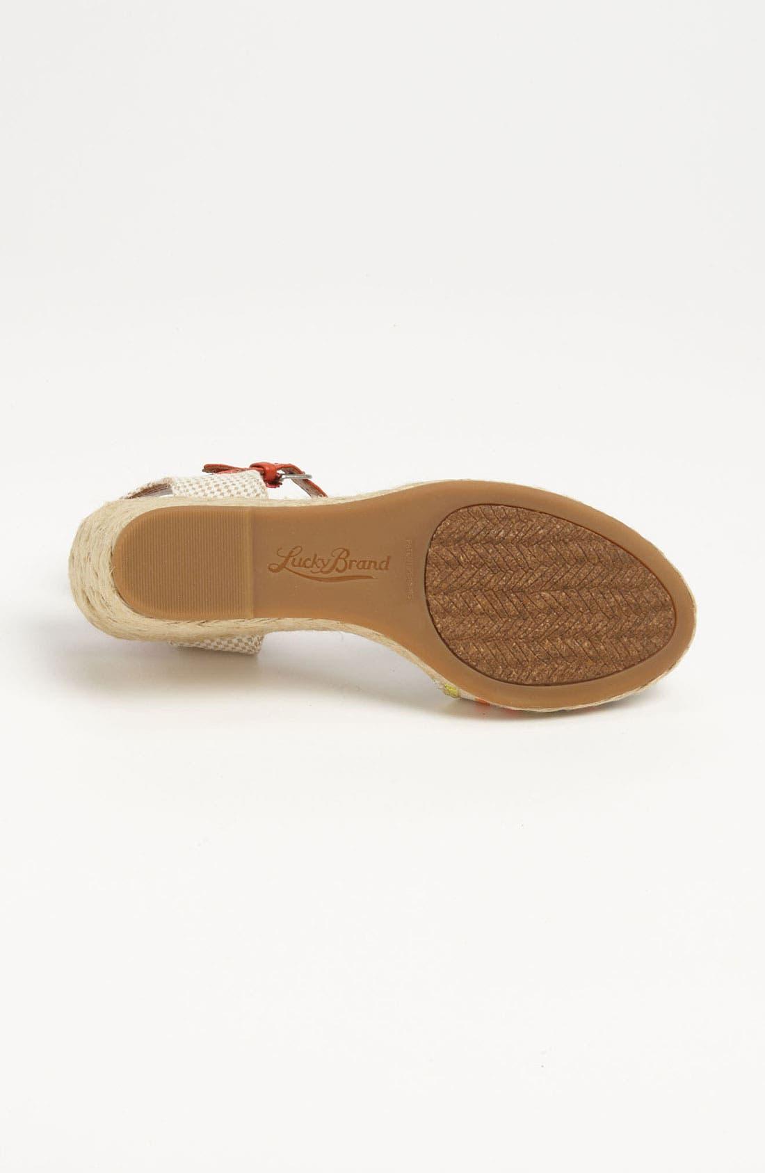 Alternate Image 4  - Lucky Brand 'Kyndra' Sandal