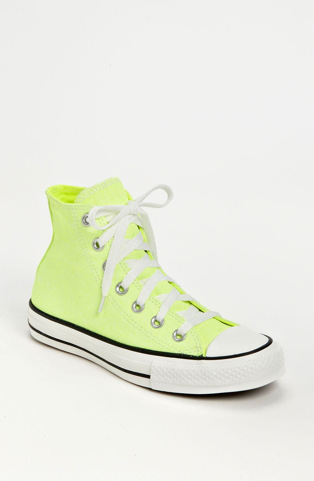 Alternate Image 1 Selected - Converse Chuck Taylor® All Star® Washed Neon High Top Sneaker (Women)