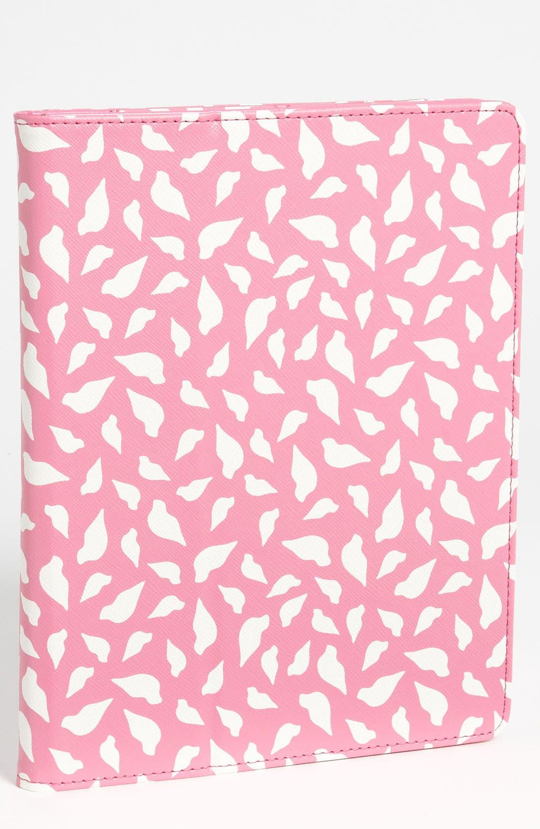 Main Image - Diane von Furstenberg 'Printed Lips' iPad Cover