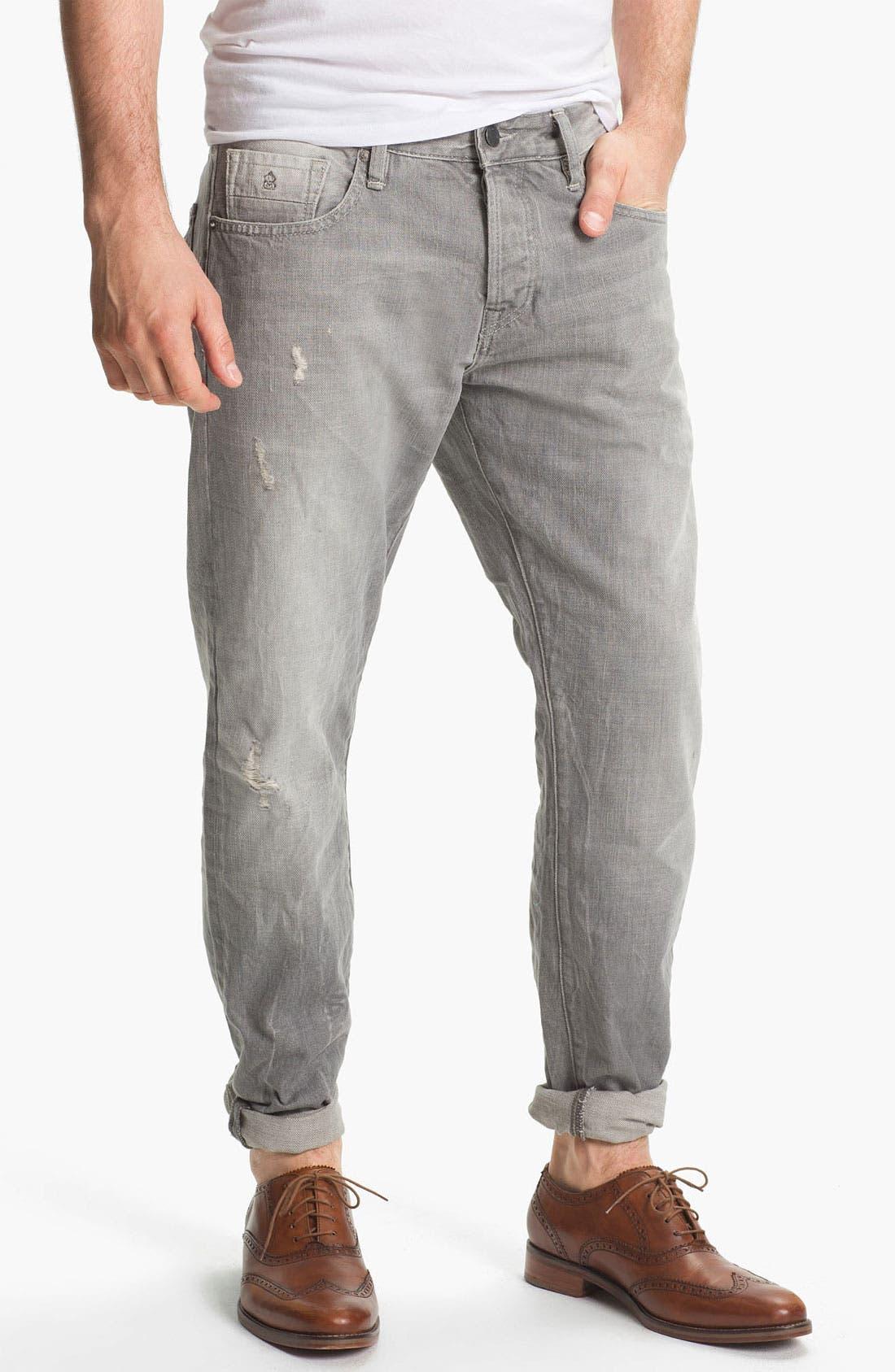 Alternate Image 1 Selected - Scotch & Soda 'Ralston' Slim Straight Leg Jeans (Stoner)