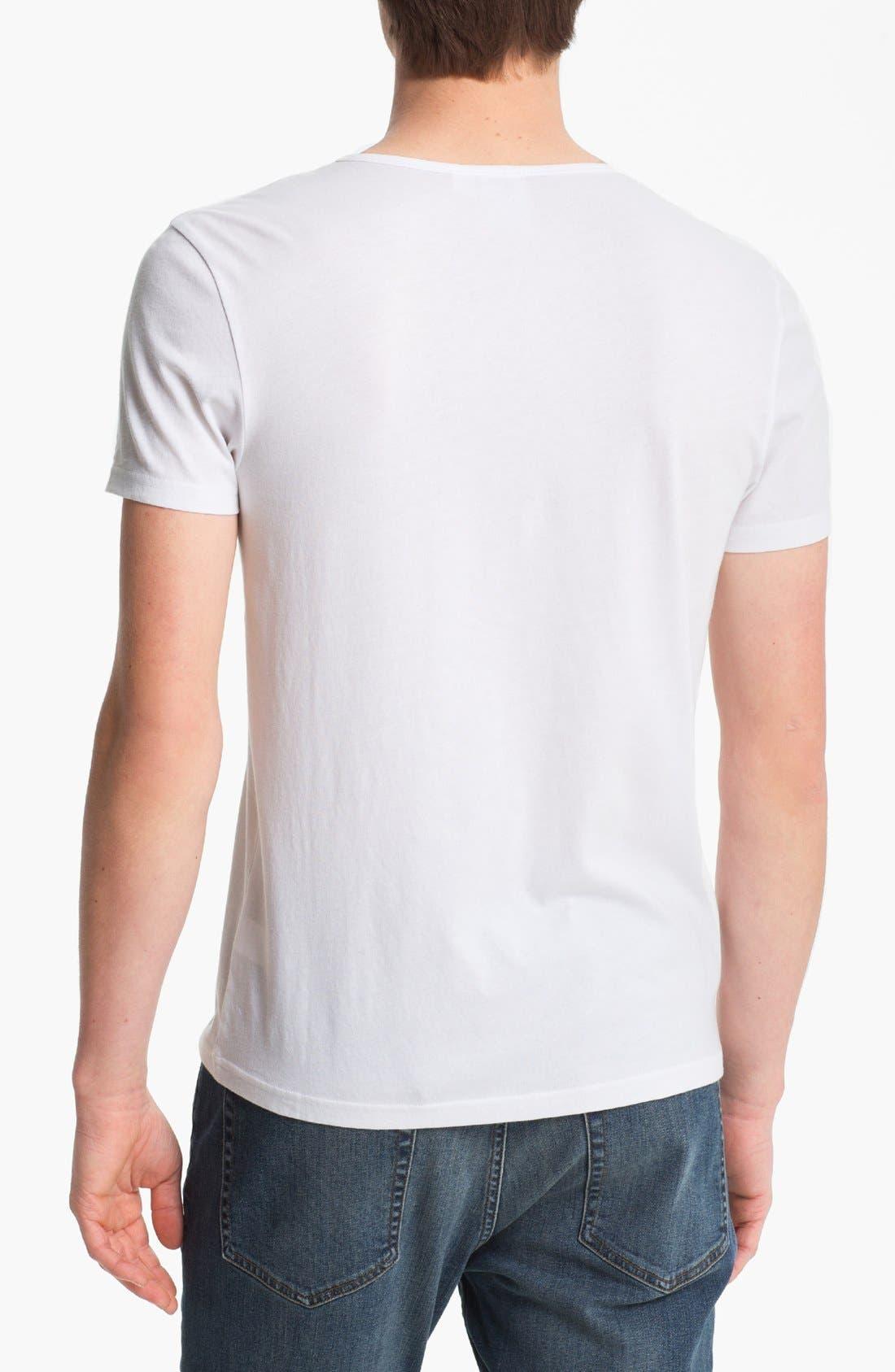 Alternate Image 2  - Topman Scoop Neck T-Shirt