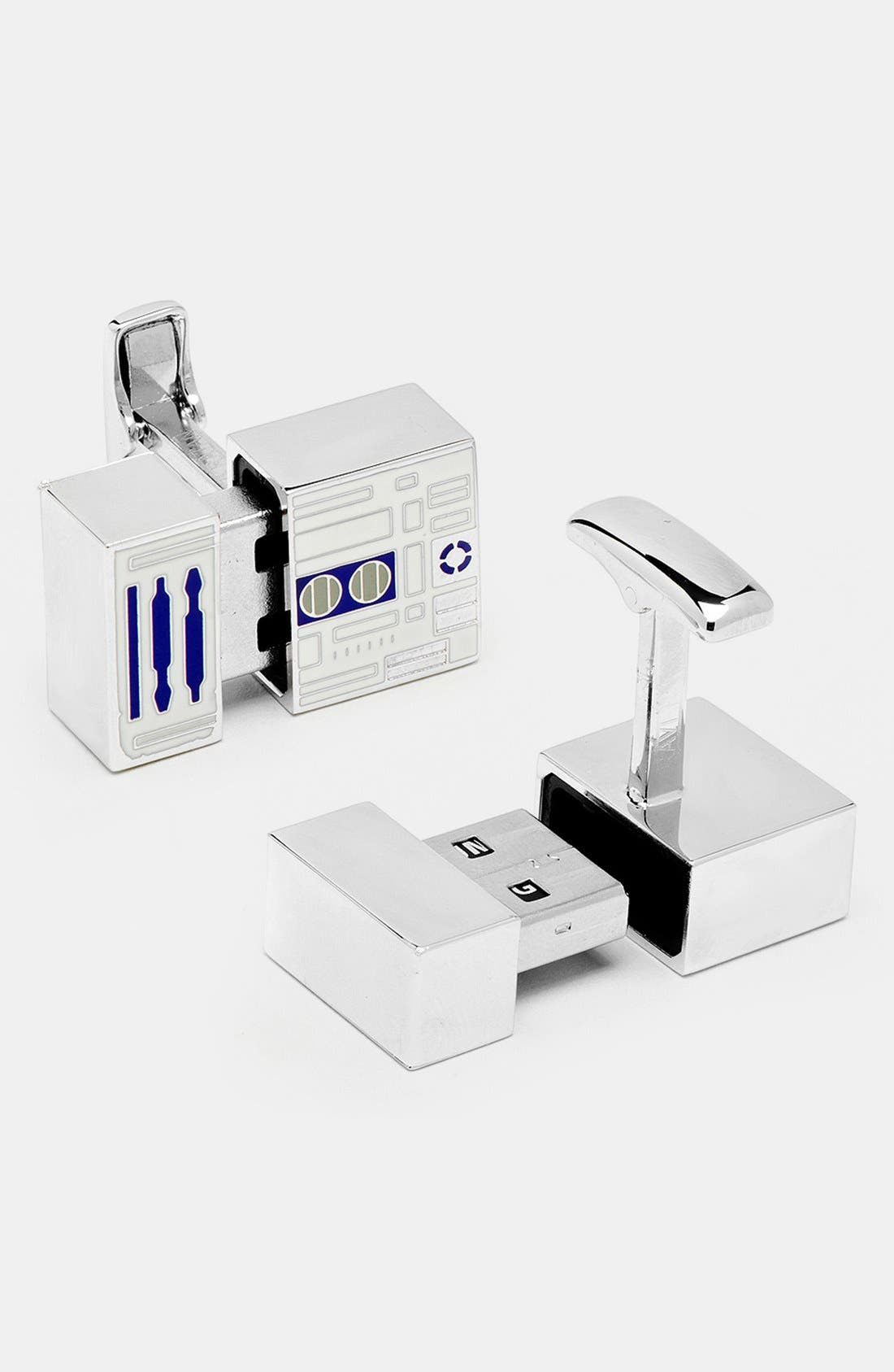 Alternate Image 2  - Cufflinks, Inc. 'Star Wars™ - R2D2' 4GB Flash Drive Cuff Links