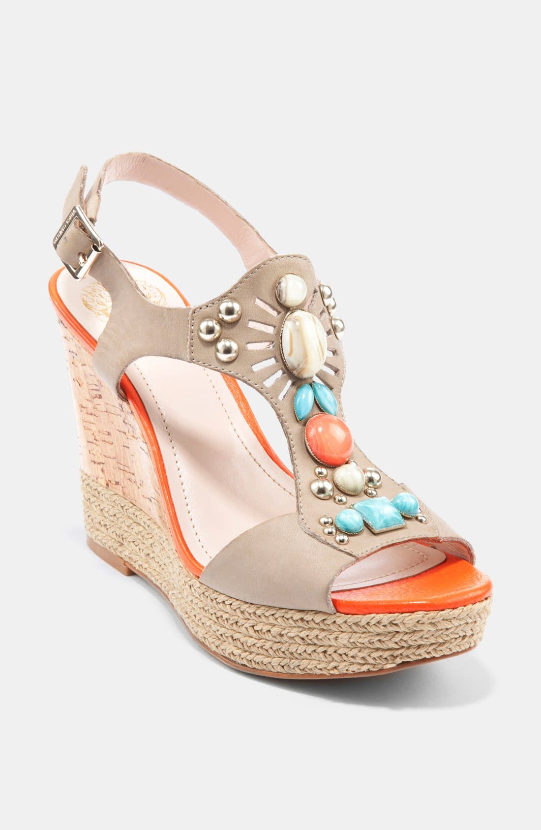 Alternate Image 1 Selected - Vince Camuto 'Tovia' Wedge Sandal