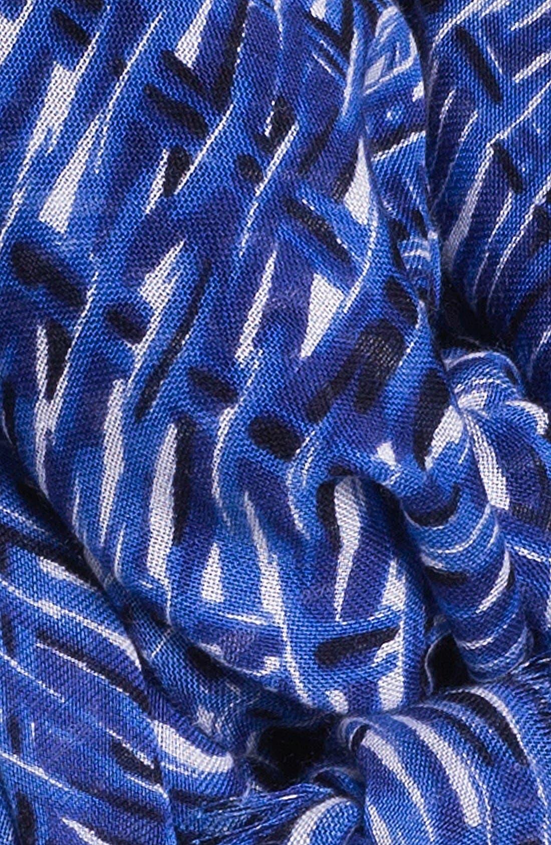 Alternate Image 2  - kate spade new york 'basket weave' scarf