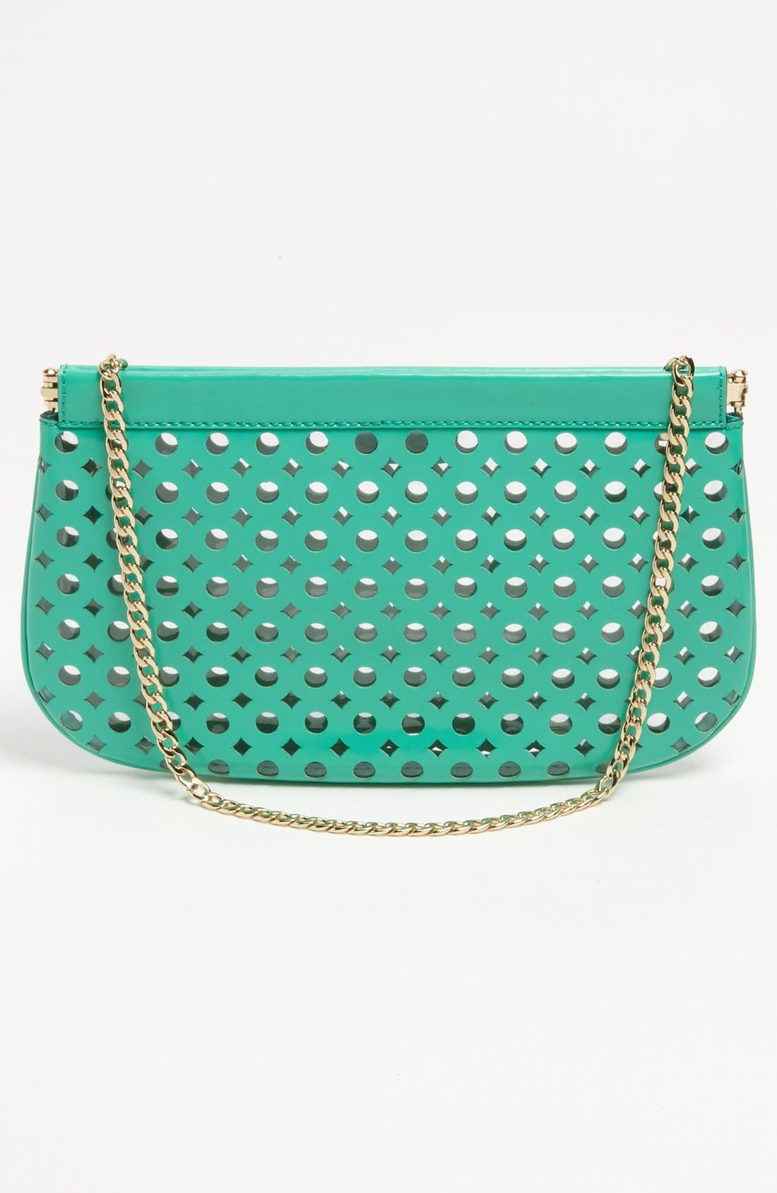 Alternate Image 4  - Milly 'Addison Facile' Patent Leather Clutch