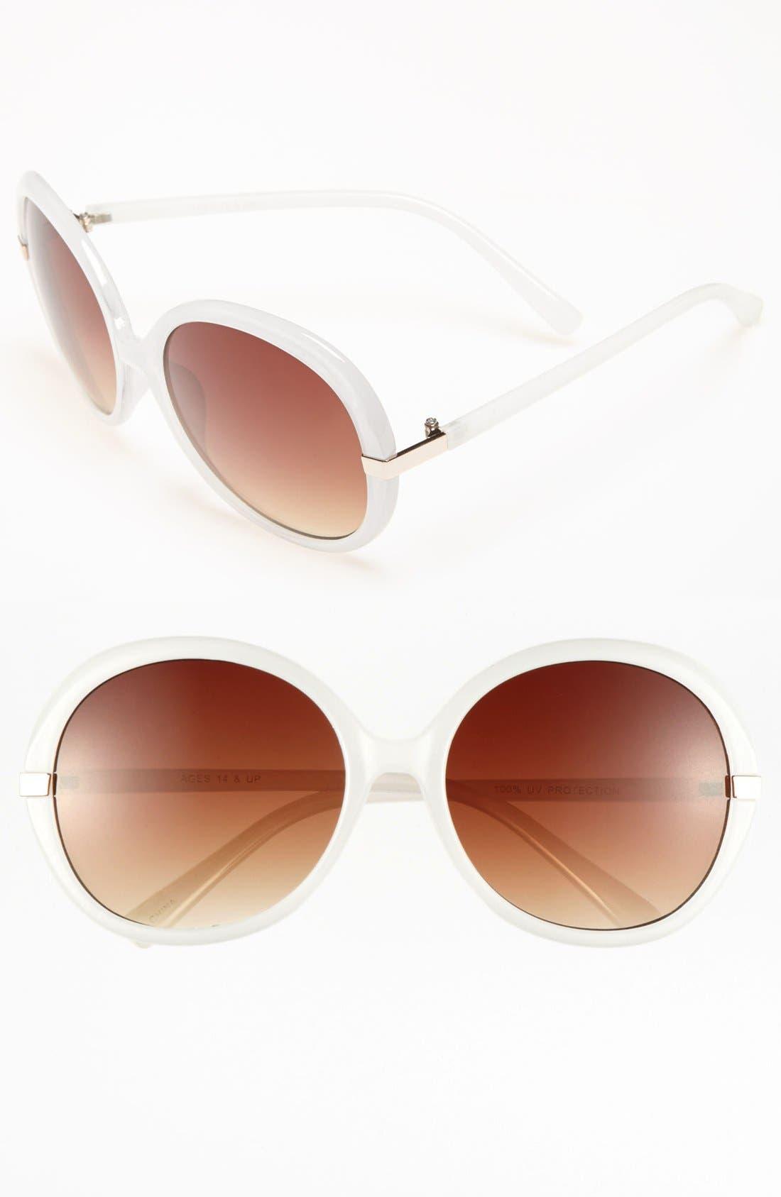 Alternate Image 1 Selected - FE NY 'Brooke' Sunglasses