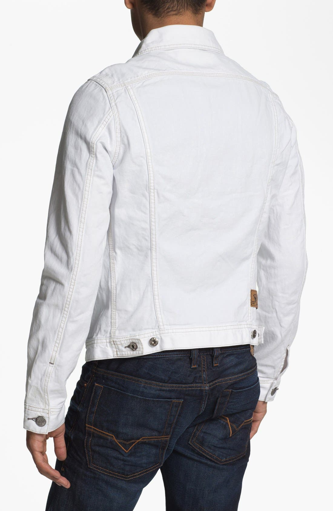 Alternate Image 2  - DIESEL® 'Elshar' Denim Jacket