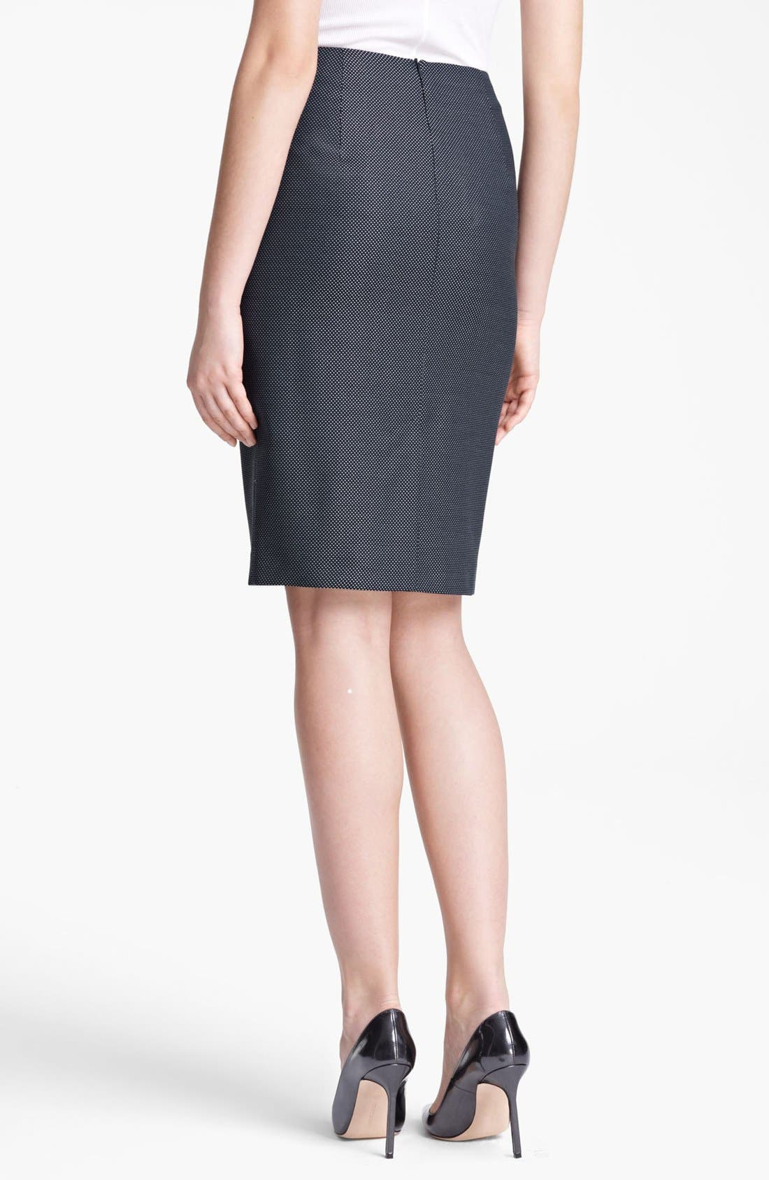 Alternate Image 2  - Max Mara 'Svelto' Pin Dot Skirt