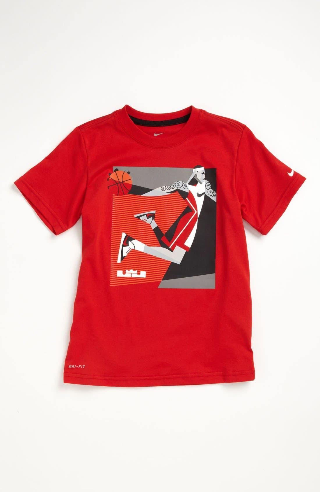 Alternate Image 1 Selected - Nike 'LeBron - Fresh' T-Shirt (Big Boys)