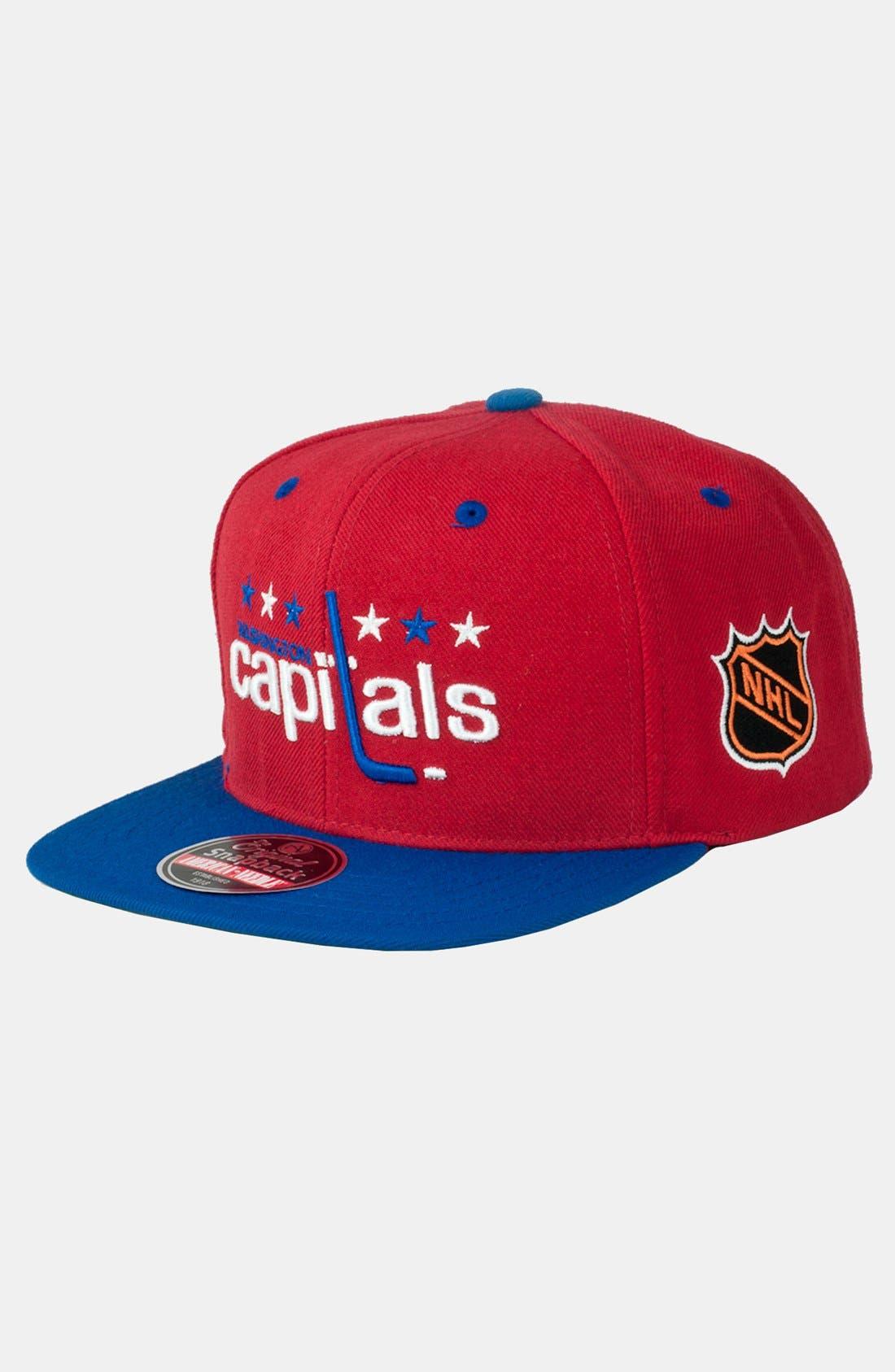 Alternate Image 1 Selected - American Needle 'Washinton Capitals - Blockhead' Snapback Hockey Cap