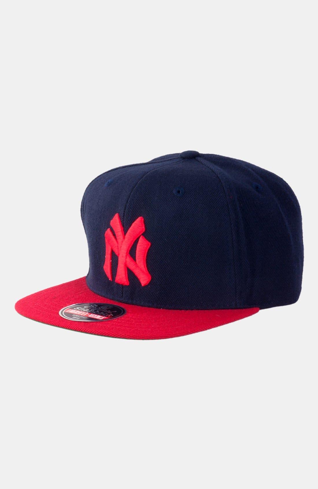 Alternate Image 1 Selected - American Needle 'New York Yankees 1910 - 400 Series' Snapback Baseball Cap