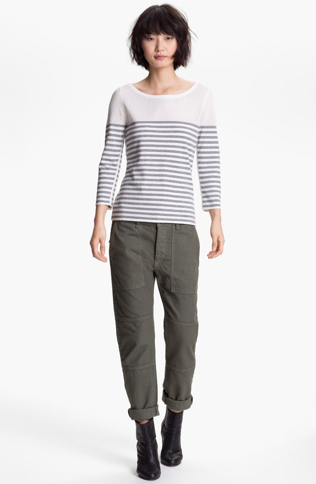 Alternate Image 4  - rag & bone/JEAN 'Brigade' Cargo Twill Pants