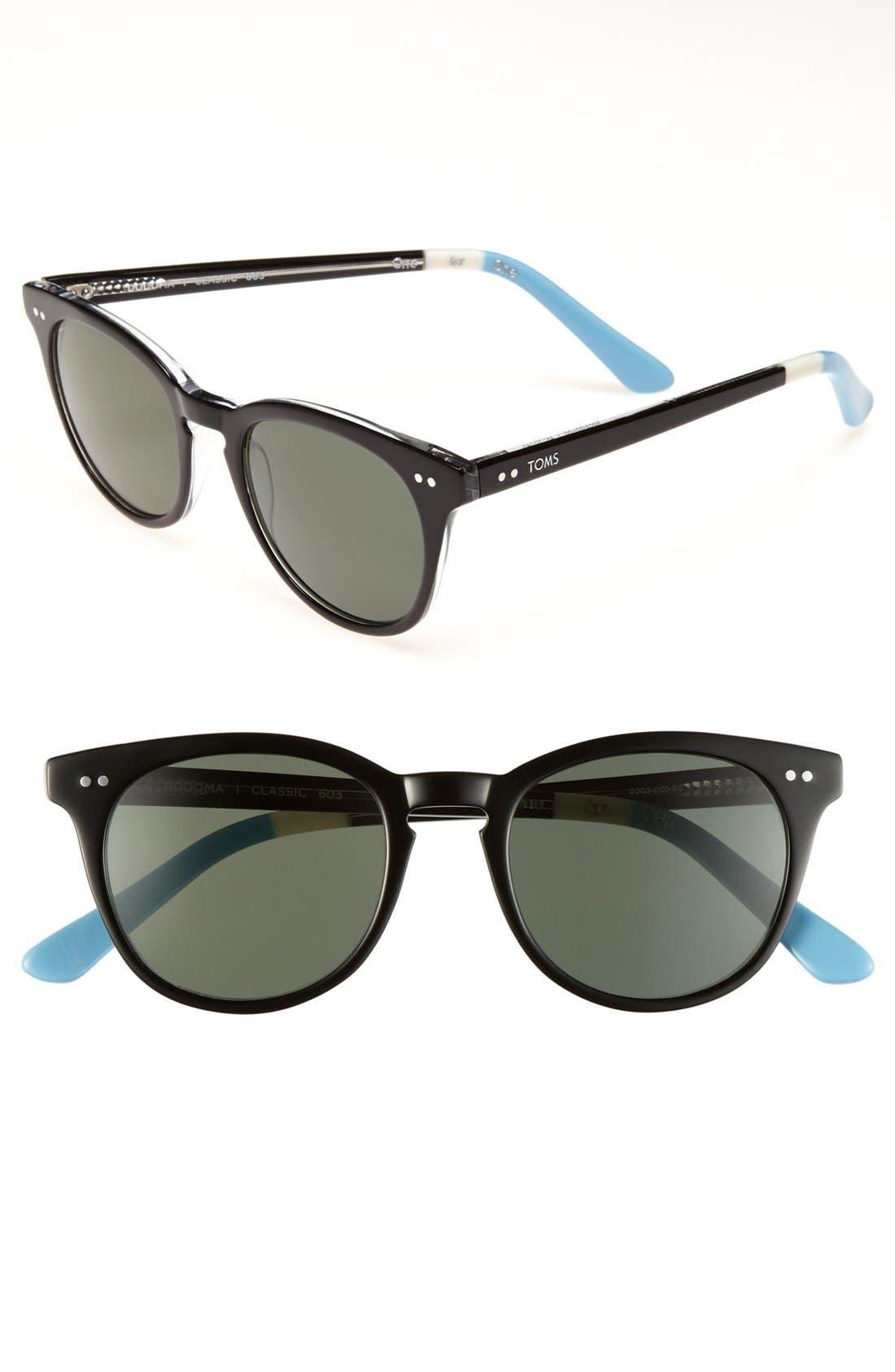 Alternate Image 1 Selected - TOMS 'Dodoma - Classic 603' Polarized 48mm Sunglasses