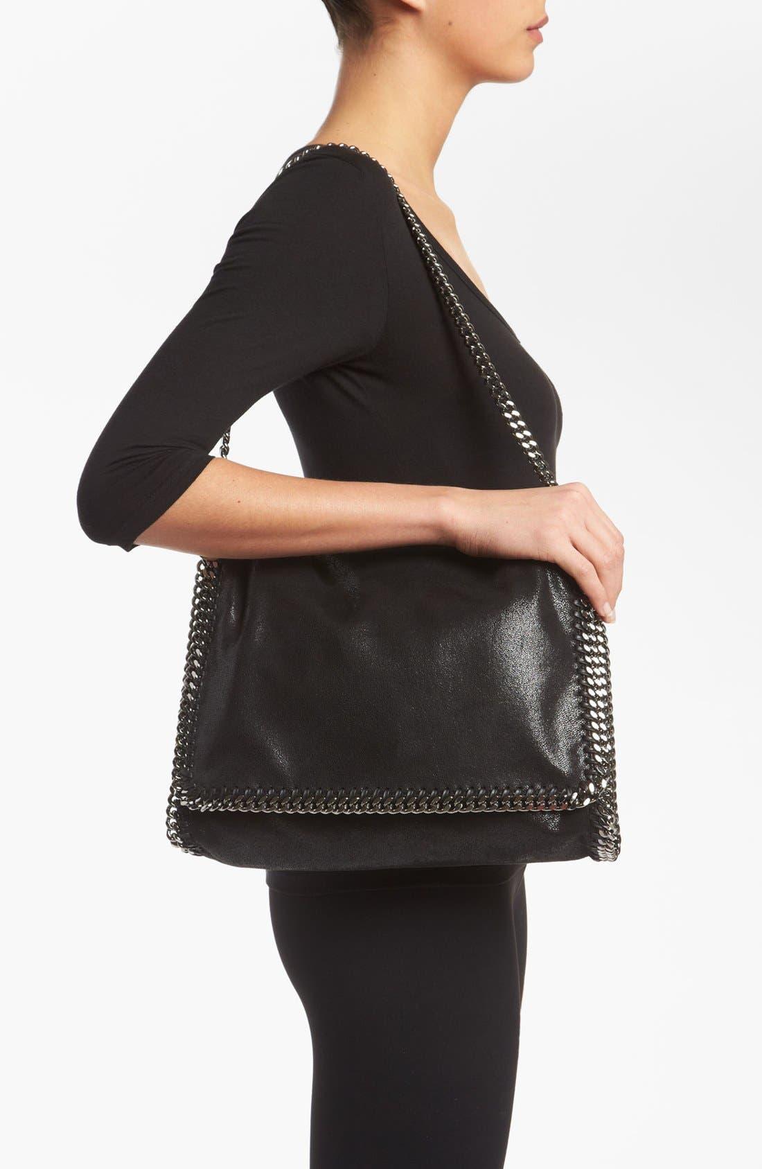 Alternate Image 2  - Stella McCartney 'Falabella - Big' Faux Suede Shoulder Bag