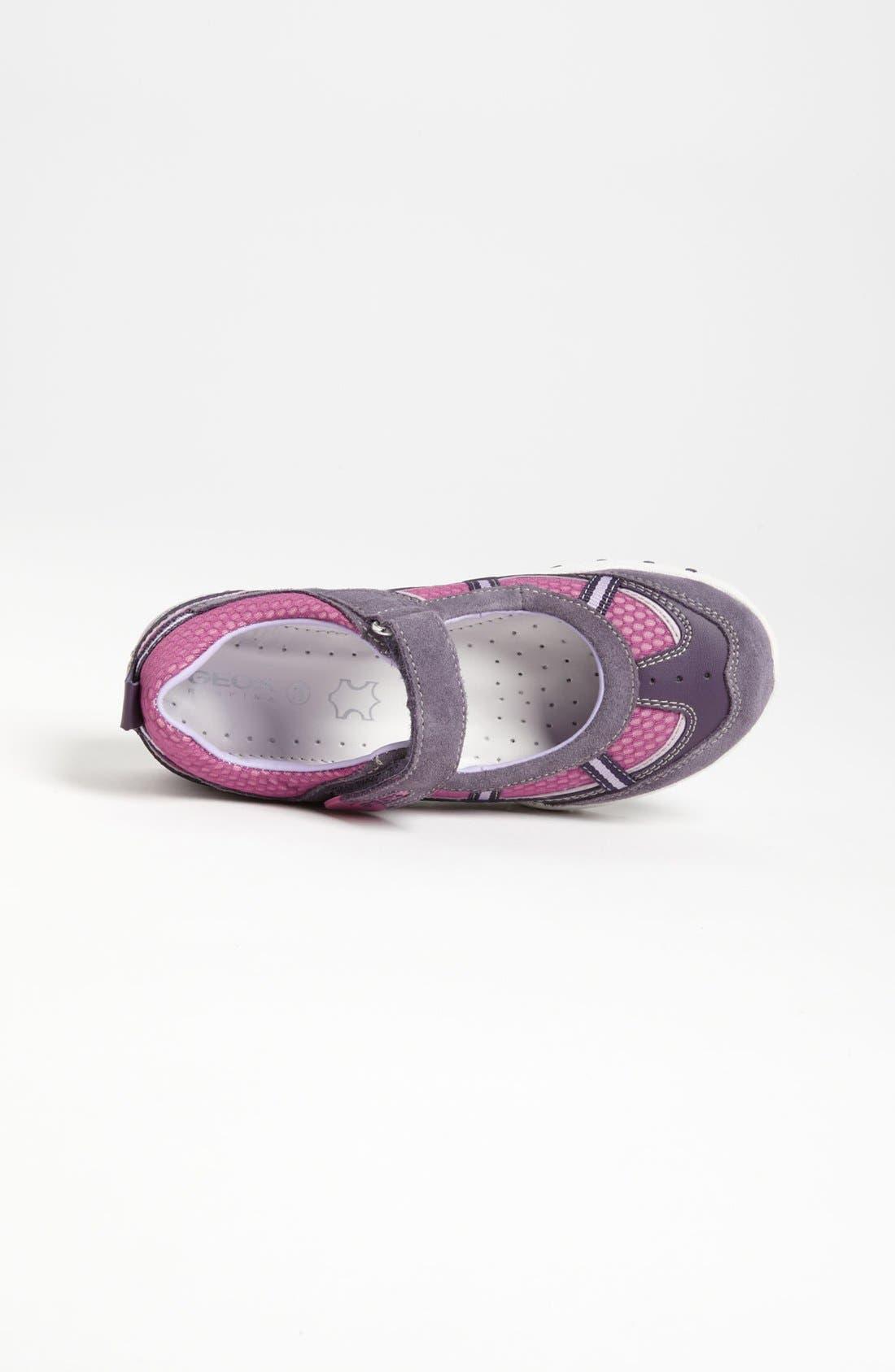 Alternate Image 3  - Geox 'Freccia G' Sneaker (Toddler, Little Kid & Big Kid)