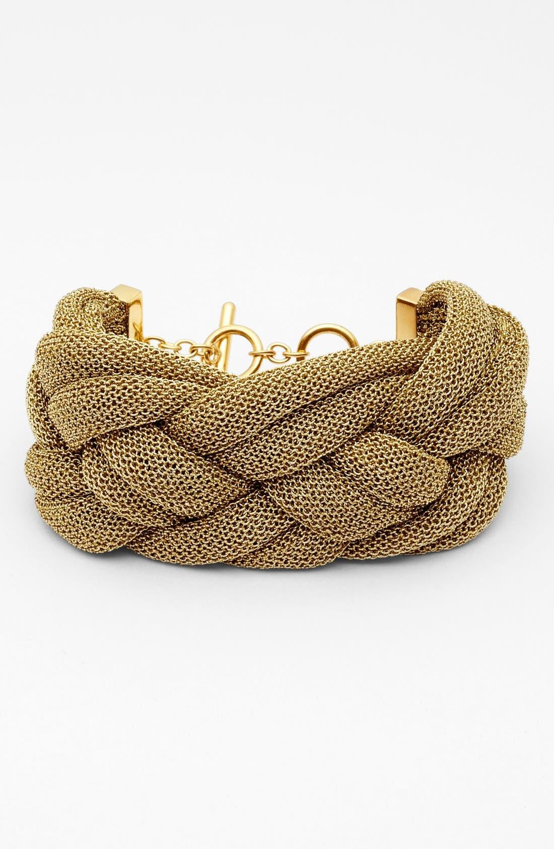 Alternate Image 1 Selected - Adami & Martucci 'Mesh' Medium Braided Bracelet