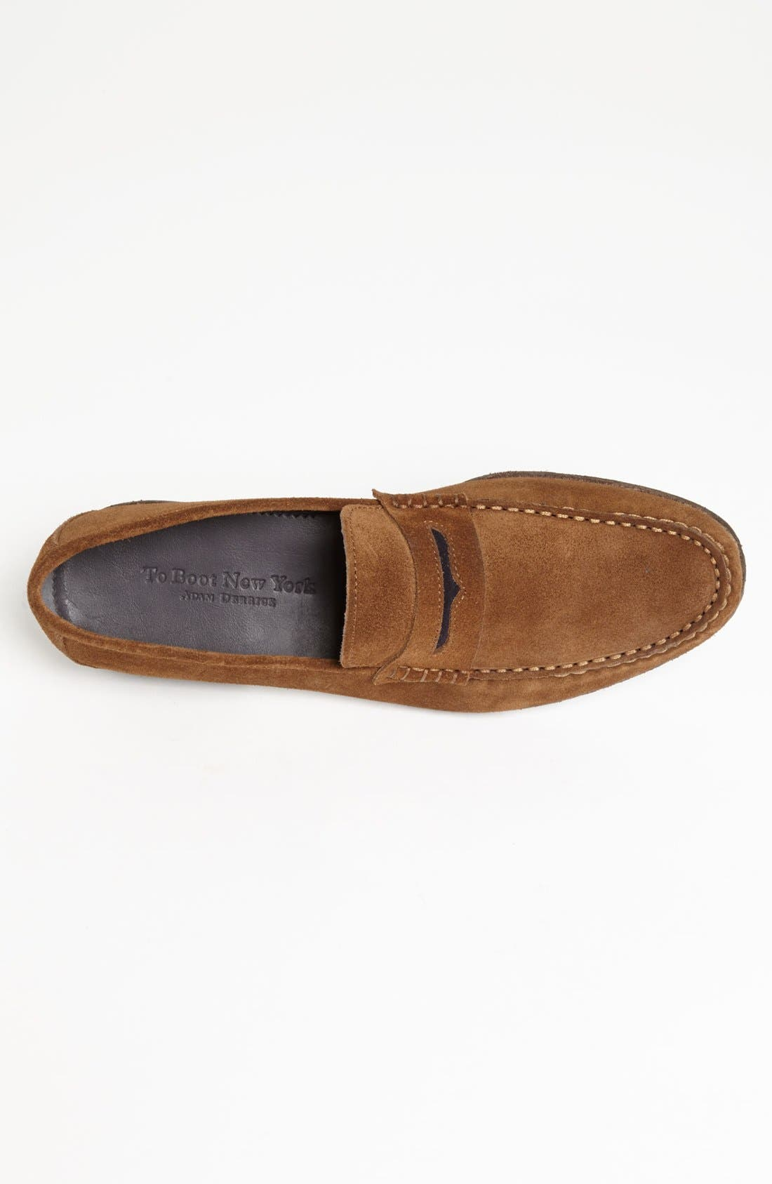 Alternate Image 3  - To Boot New York 'Wilson' Suede Penny Loafer