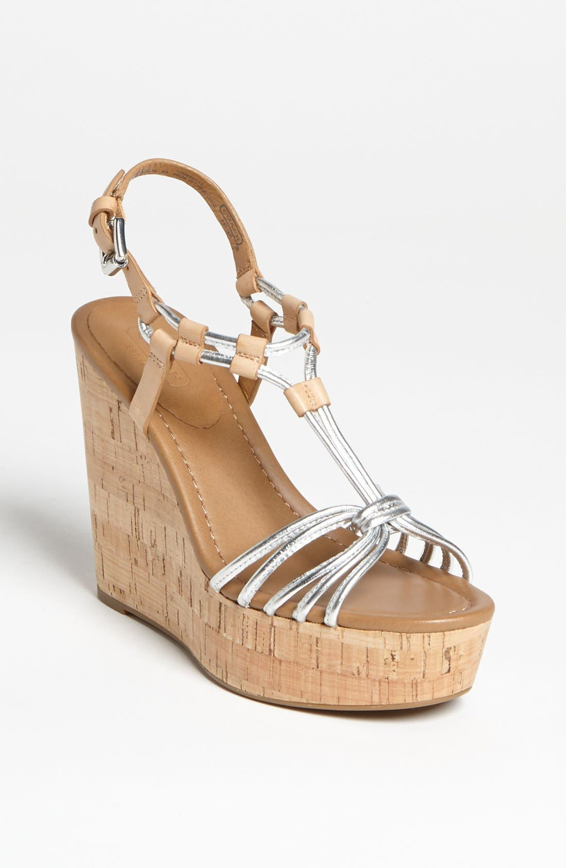 Alternate Image 1 Selected - COACH 'Georgianna' Sandal