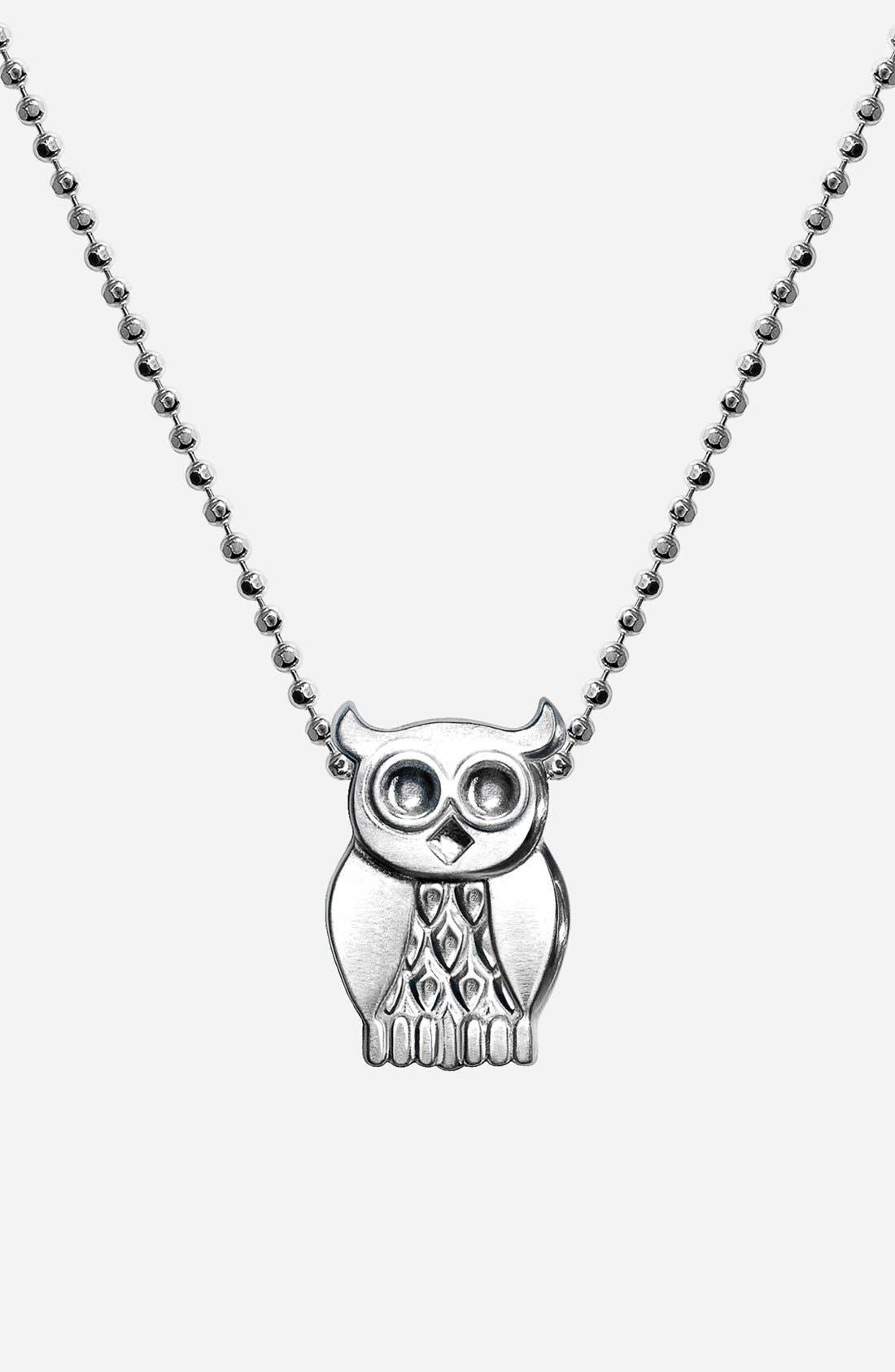 Main Image - Alex Woo 'Little Seasons' Owl Pendant Necklace