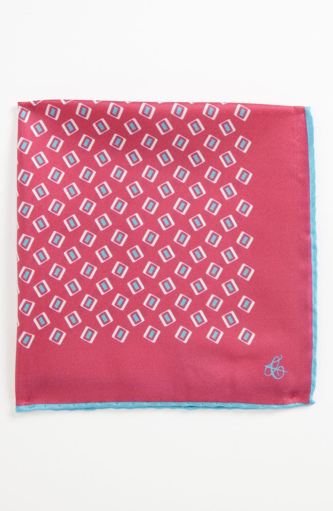 Main Image - Canali Silk Pocket Square
