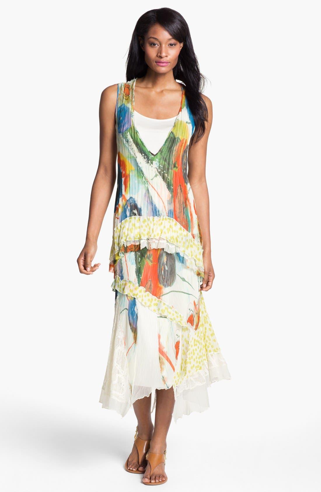 Alternate Image 4  - Komarov Mix Print Maxi Skirt