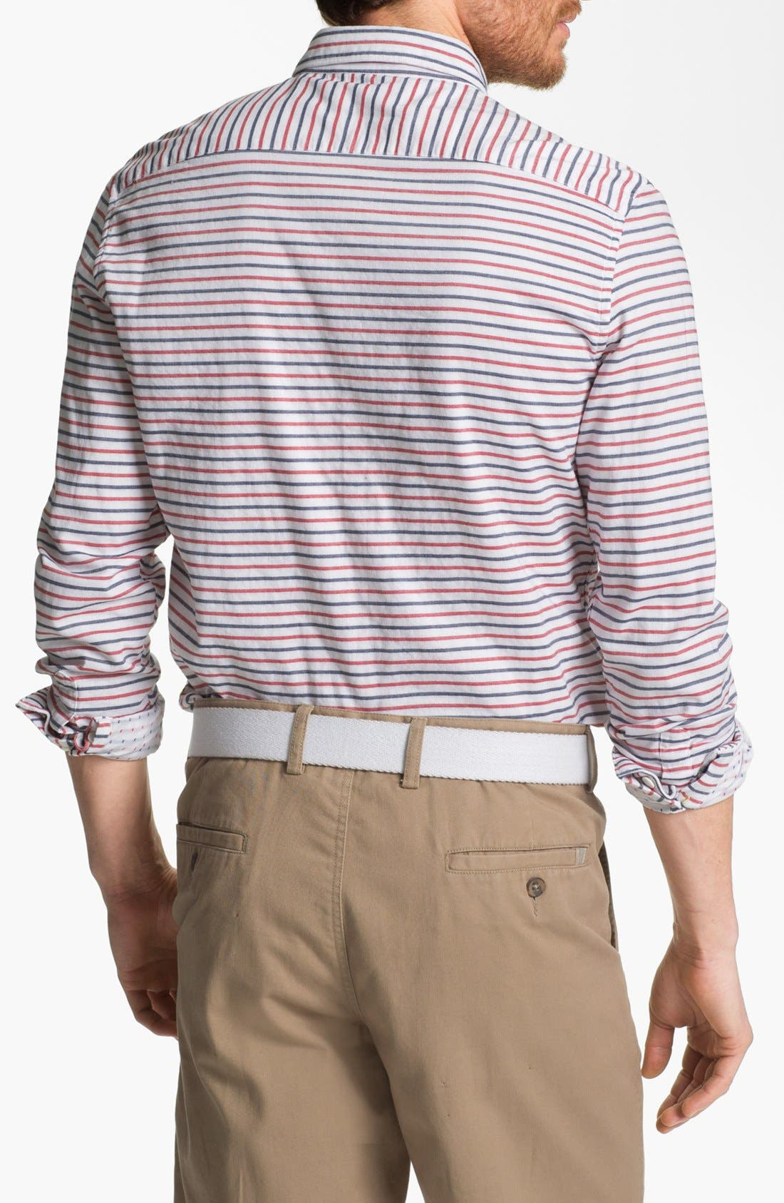 Alternate Image 2  - French Connection 'Dartmouth' Slim Fit Sport Shirt (Online Only)