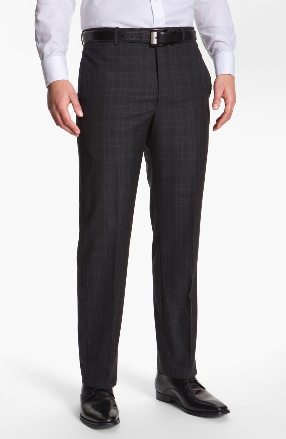 Alternate Image 5  - Joseph Abboud 'Platinum' Plaid Wool Suit