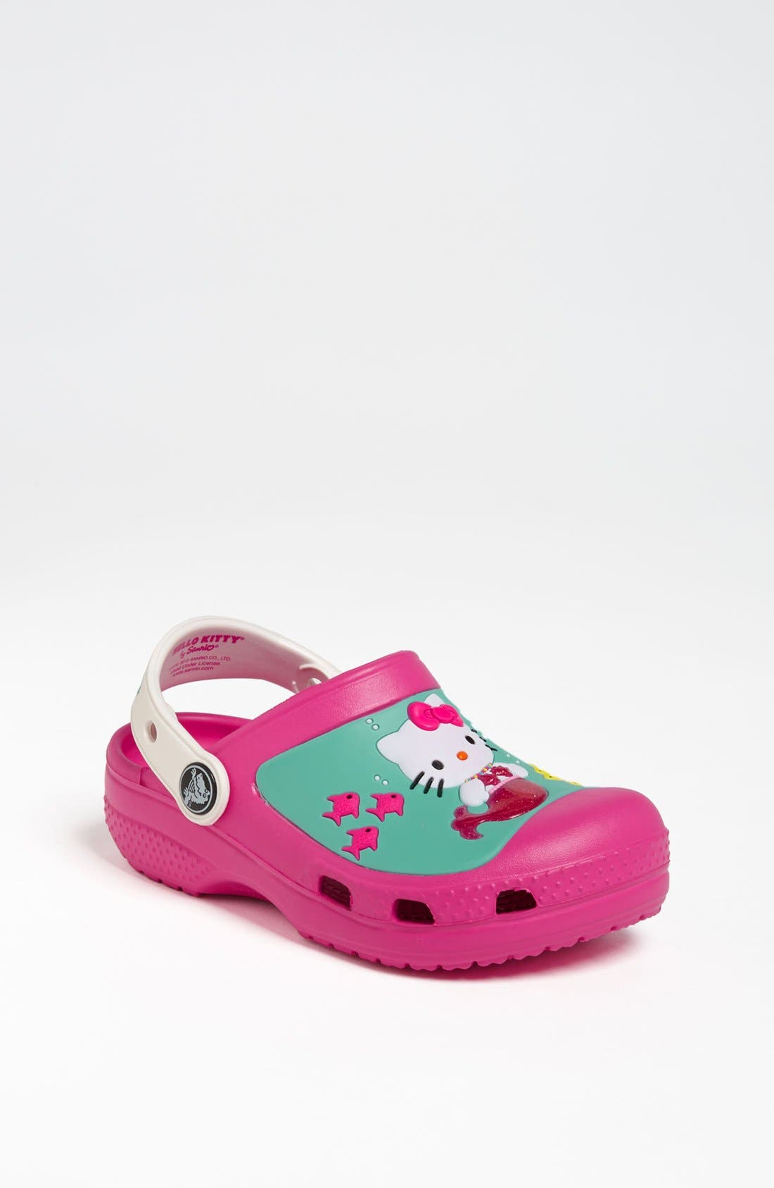 Alternate Image 1 Selected - CROCS™ 'Hello Kitty™' Slip-On (Walker & Toddler)