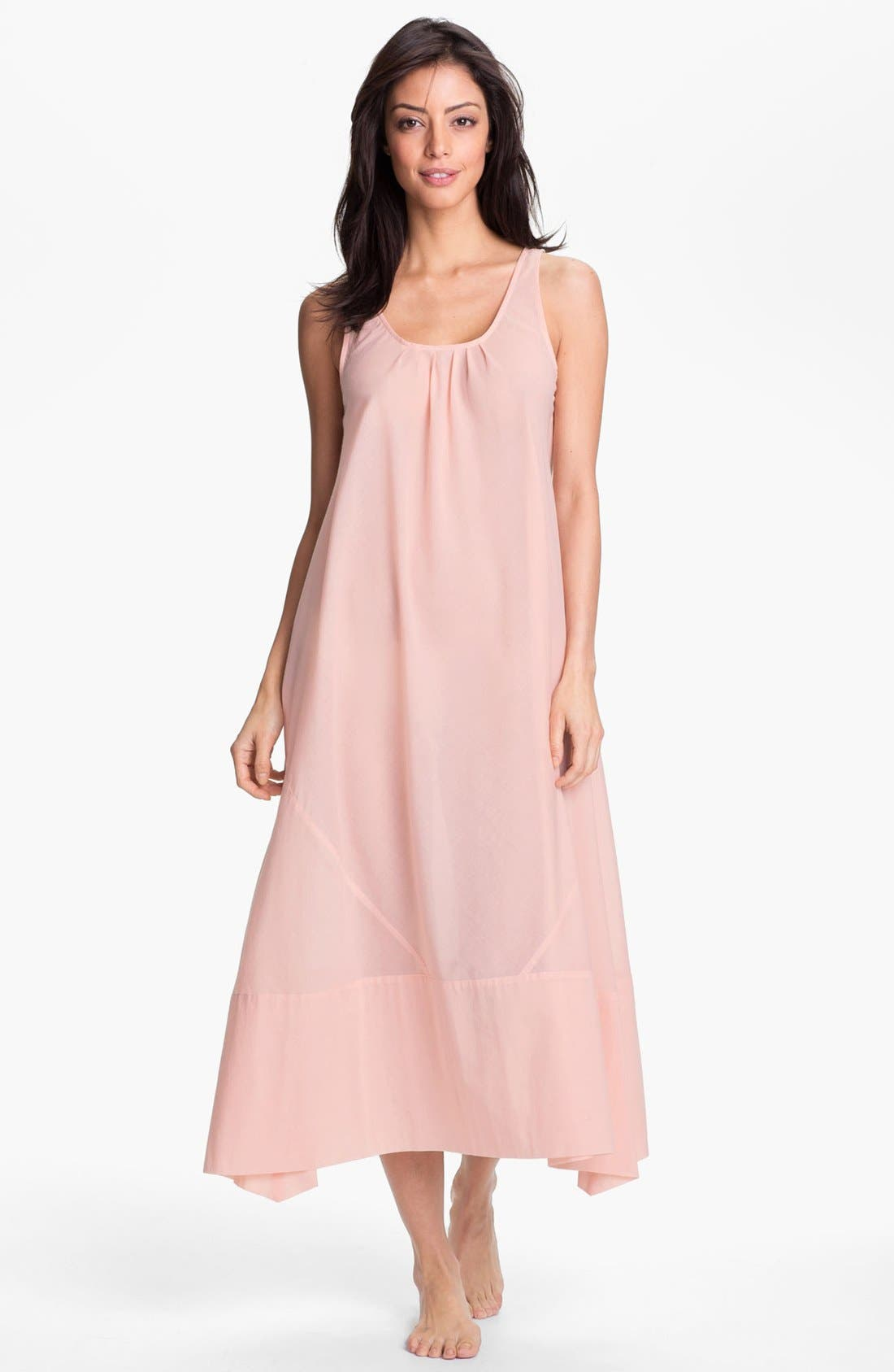 Alternate Image 1 Selected - Donna Karan 'Casual Luxe' Nightgown