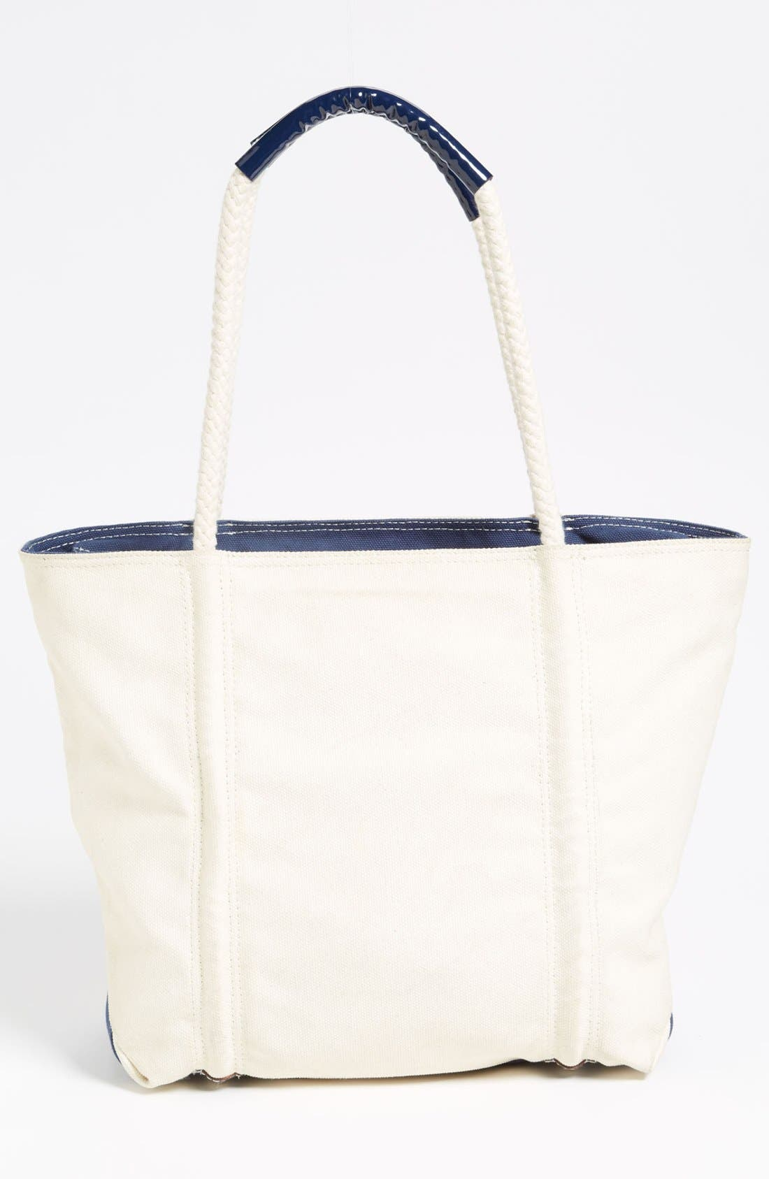 Alternate Image 4  - Milly Lobster Print Canvas Tote