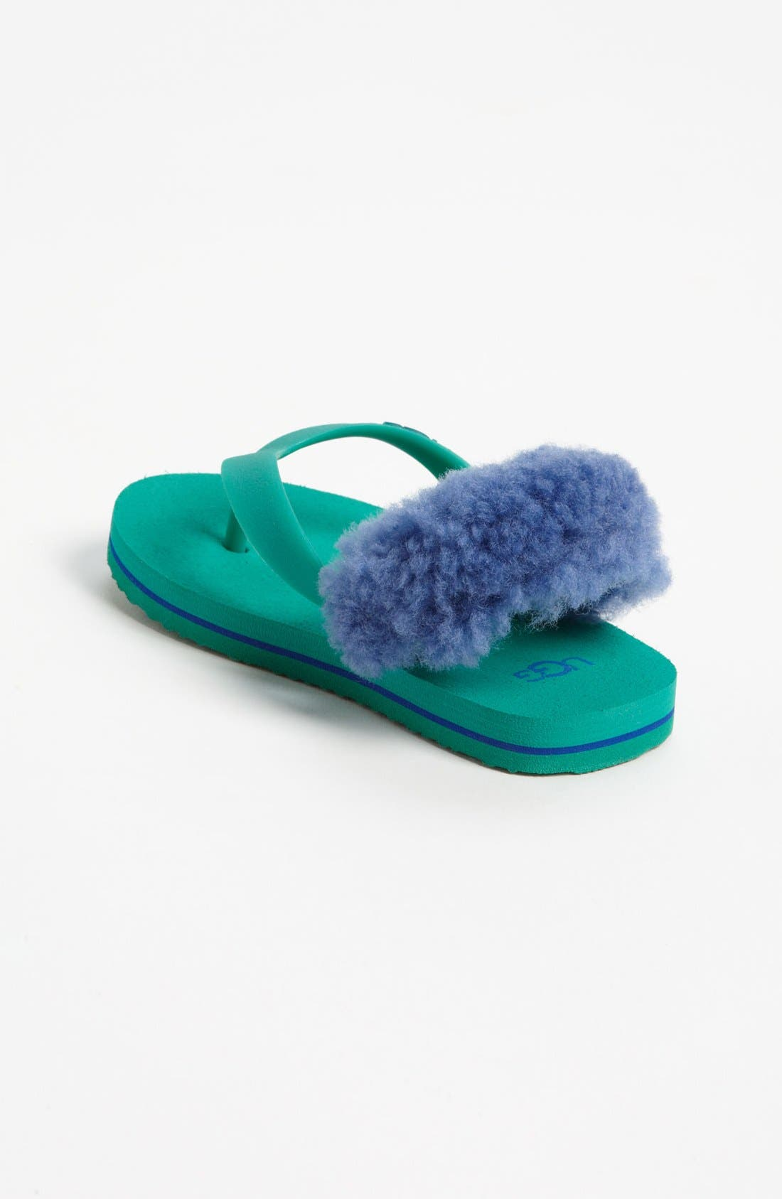 Alternate Image 4  - UGG® 'Yia Yia' Sandal (Baby & Walker)