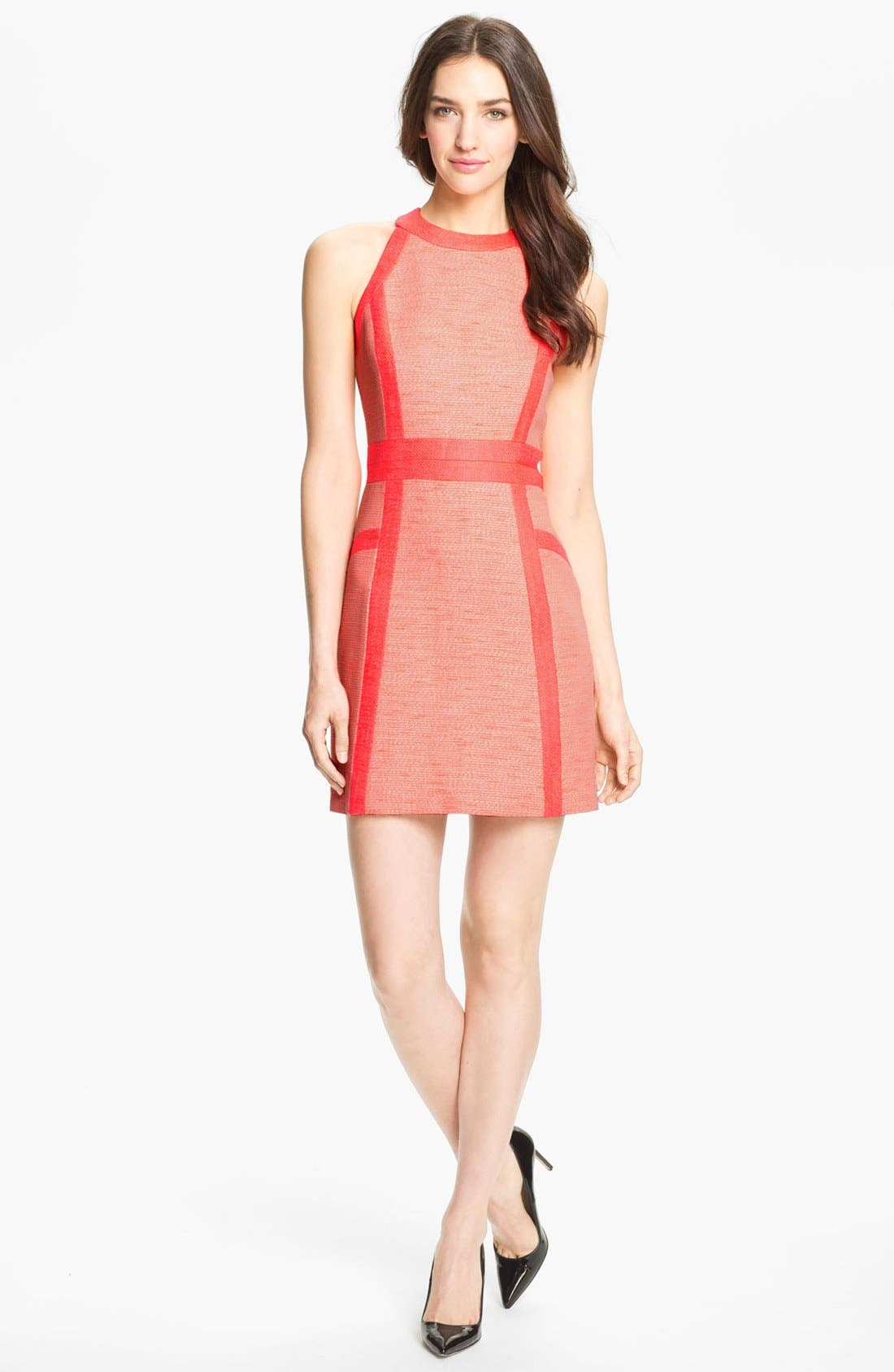 Alternate Image 1 Selected - Milly Cotton Blend Sheath Dress