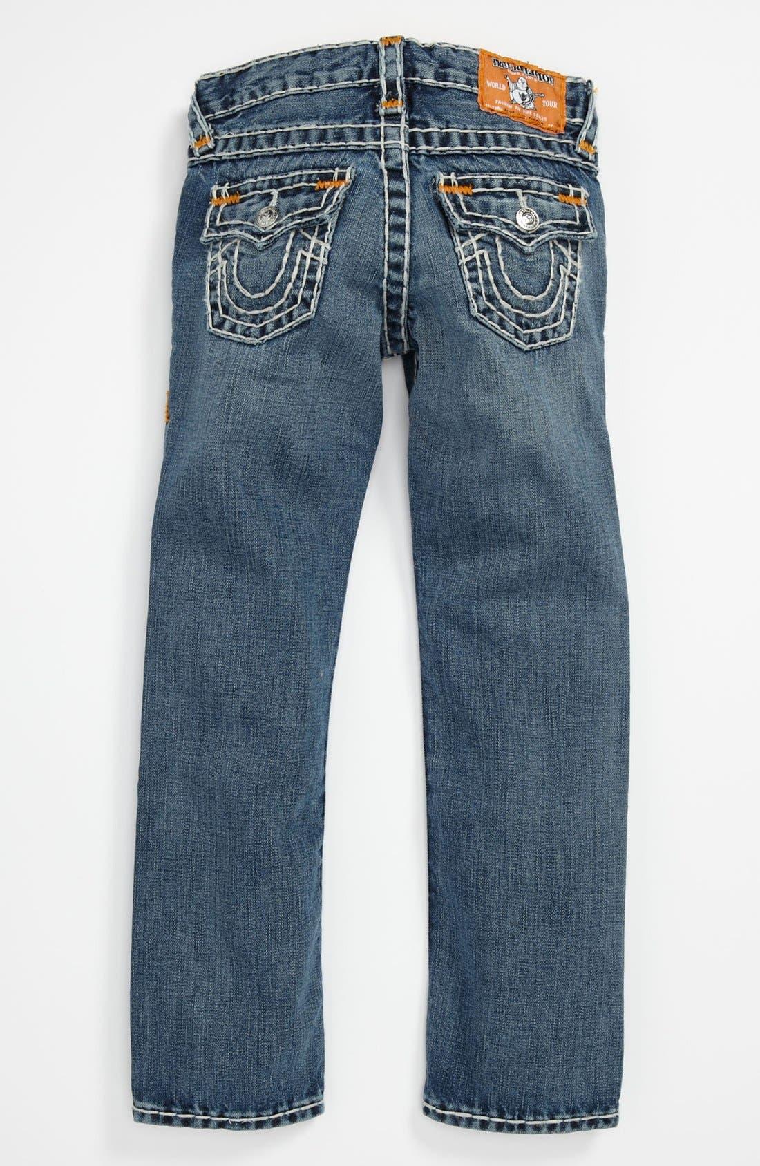 Main Image - True Religion Brand Jeans 'Jack Super T' Straight Leg Jeans (Little Boys & Big Boys)