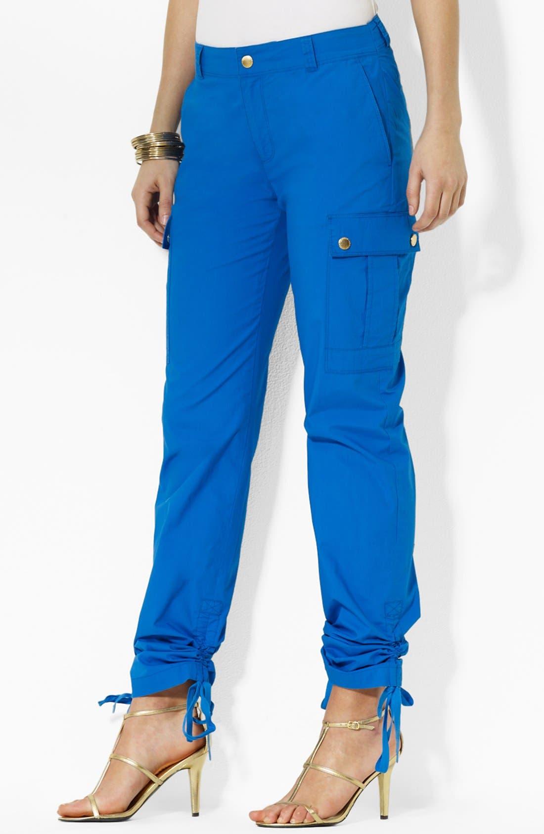 Alternate Image 1 Selected - Lauren Ralph Lauren Cargo Pants
