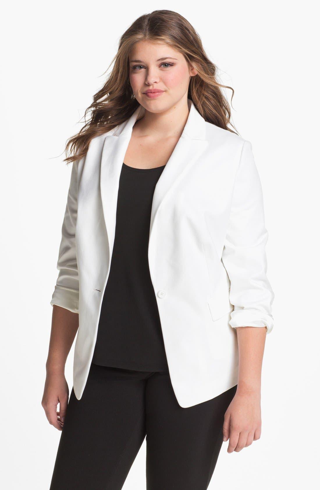Alternate Image 1 Selected - Tahari Woman 'Carina' Jacket (Plus)
