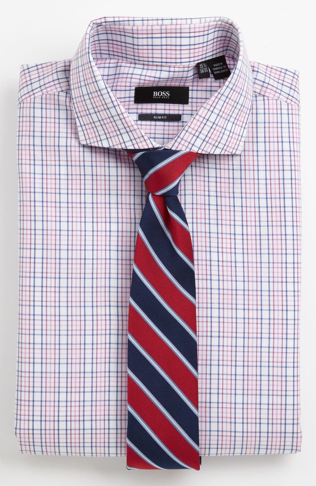 Alternate Image 3  - BOSS HUGO BOSS Slim Fit Dress Shirt