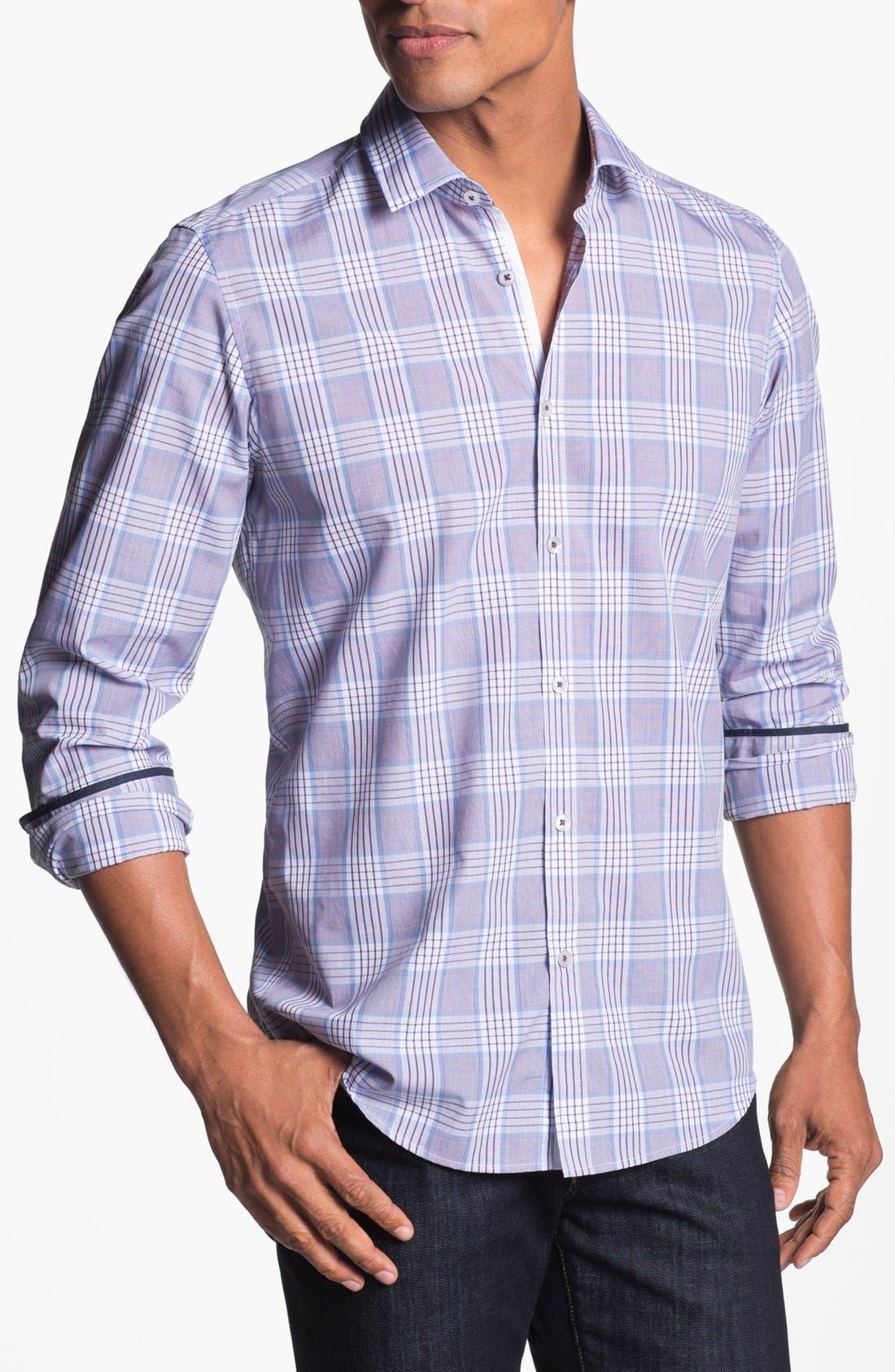 Main Image - BOSS HUGO BOSS 'Lorenzo' Regular Fit Sport Shirt