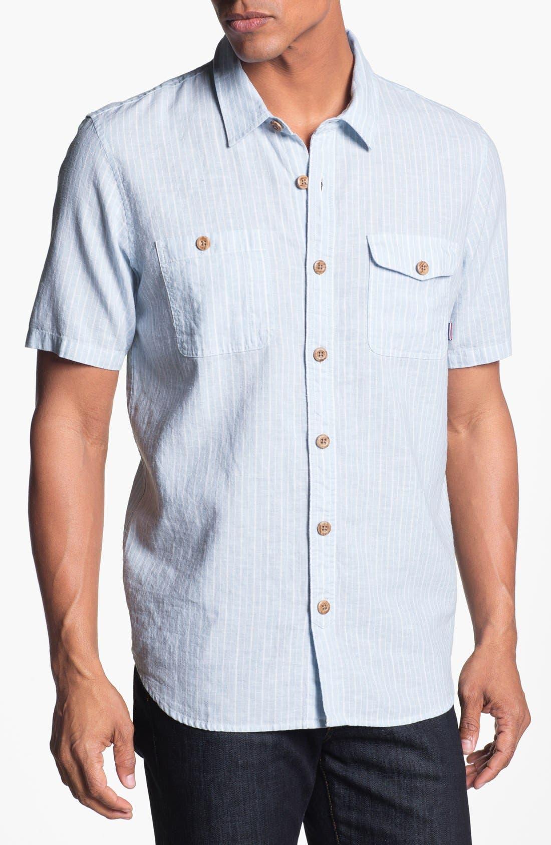Alternate Image 1 Selected - Jack O'Neill 'August' Short Sleeve Sport Shirt