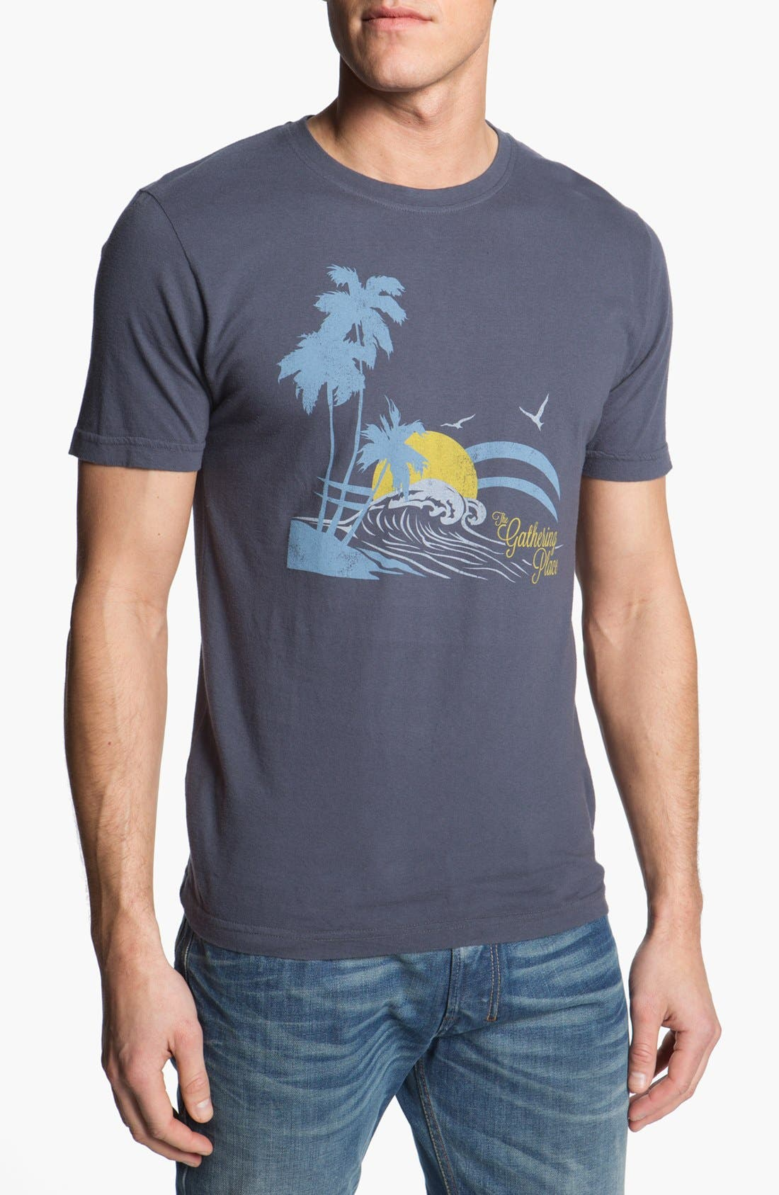 Alternate Image 1 Selected - Red Jacket 'Surfing - Brass Tacks' T-Shirt