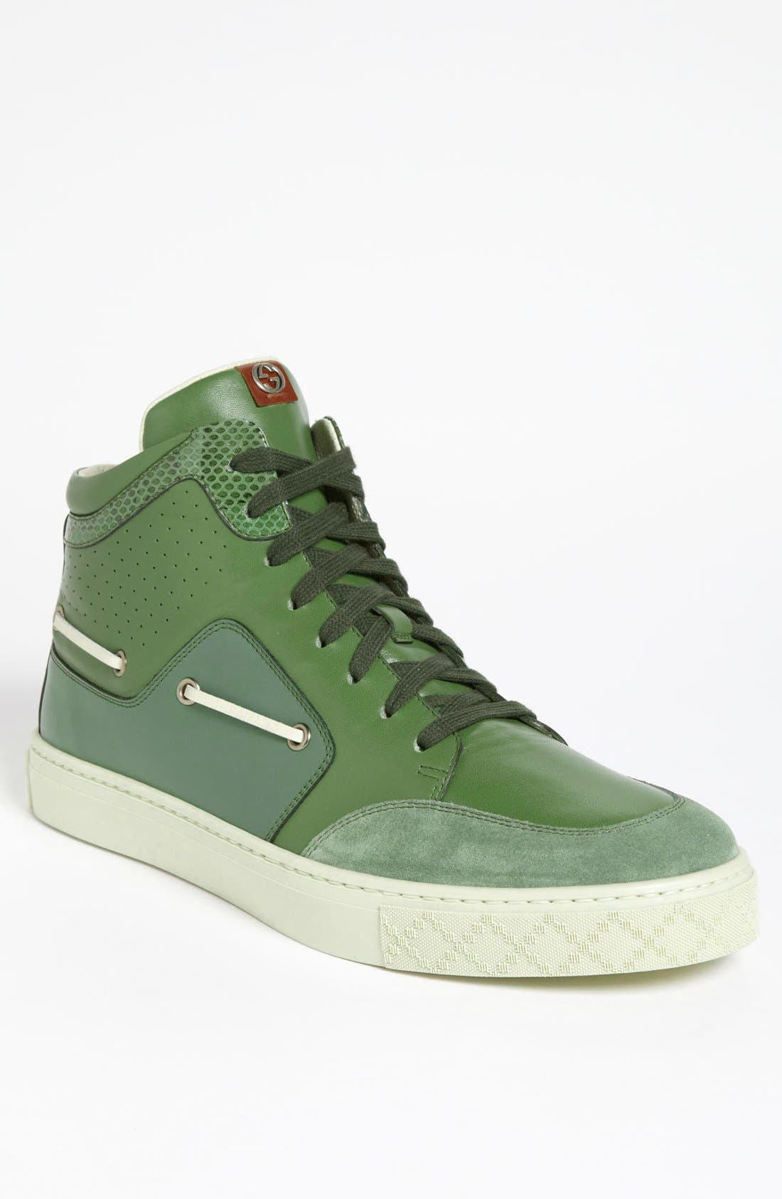 Alternate Image 1 Selected - Gucci 'Brussel Mid' Sneaker