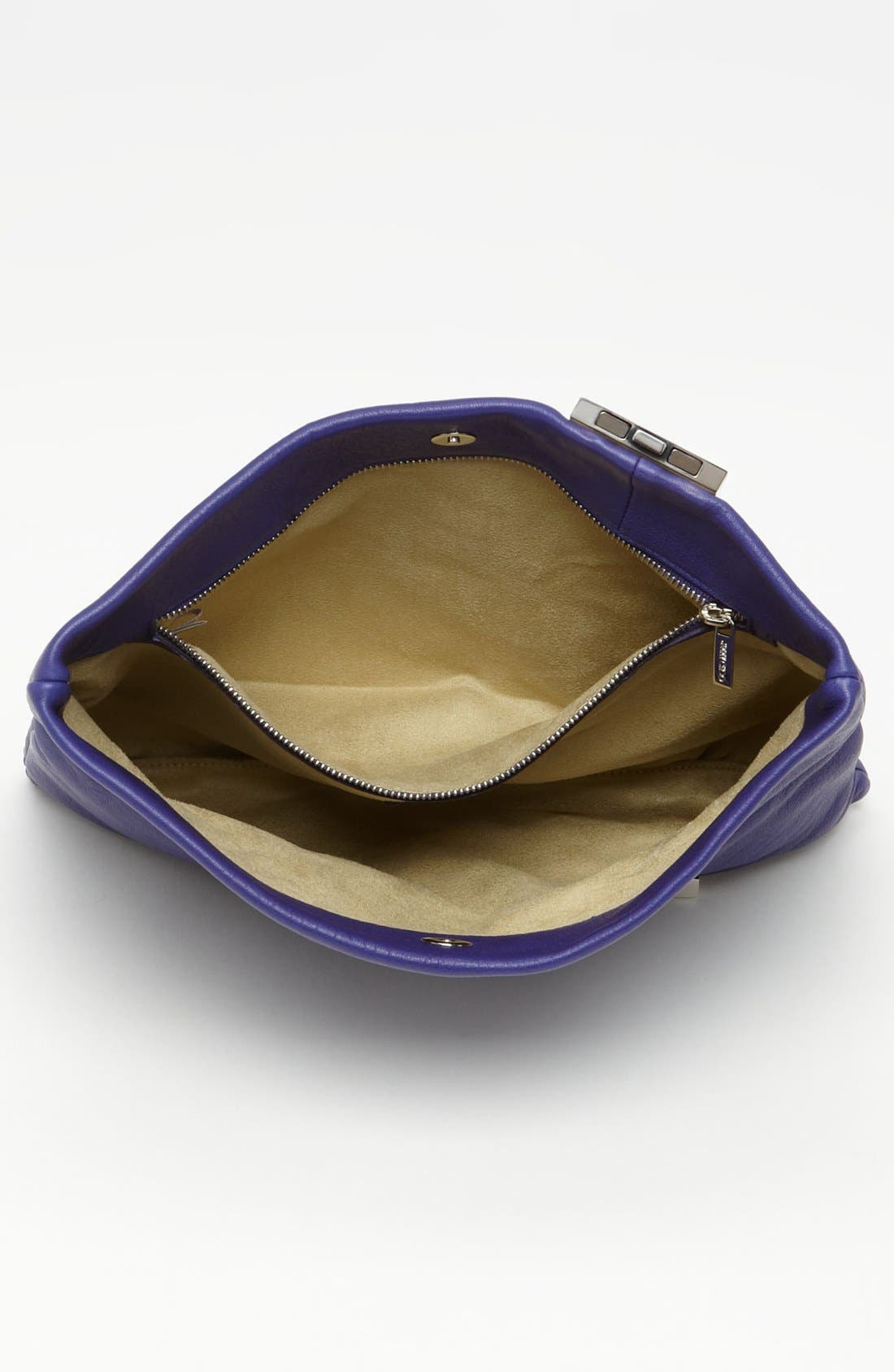 Alternate Image 3  - Jimmy Choo 'Chandra' Leather Clutch