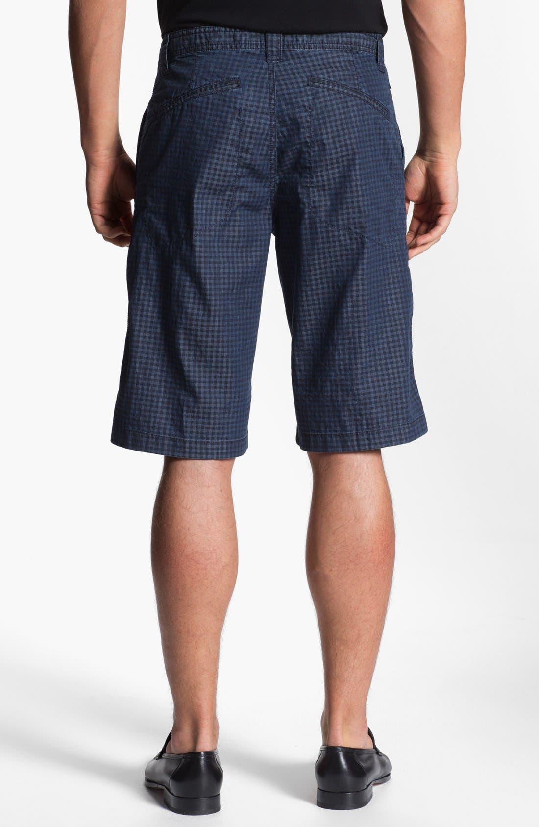 Alternate Image 2  - Armani Collezioni Check Bermuda Shorts