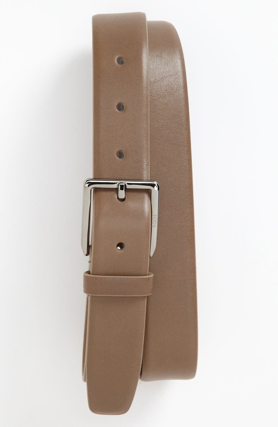 Alternate Image 1 Selected - Tod's Leather Belt