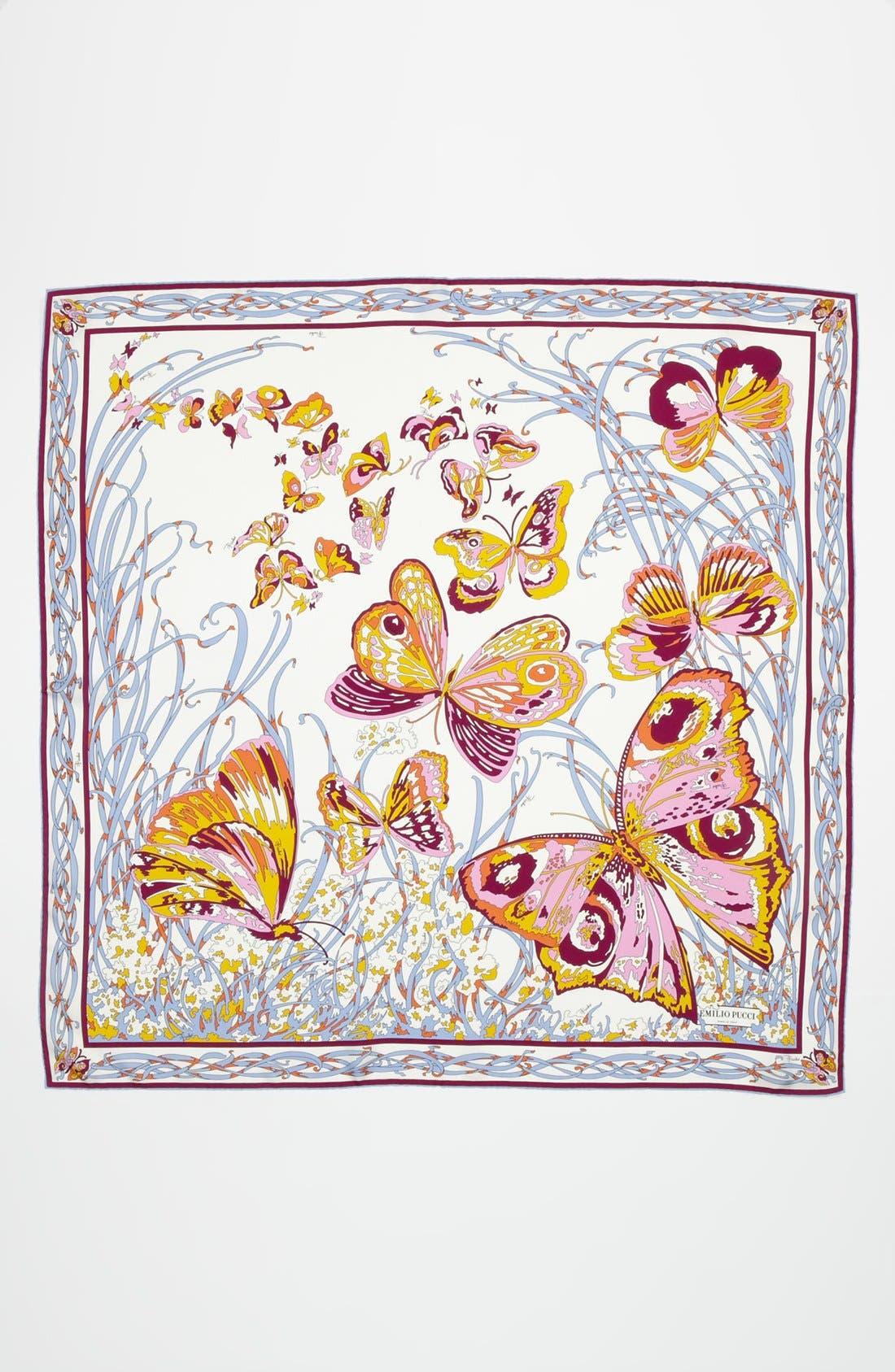 Alternate Image 2  - Emilio Pucci 'Papillon' Silk Scarf