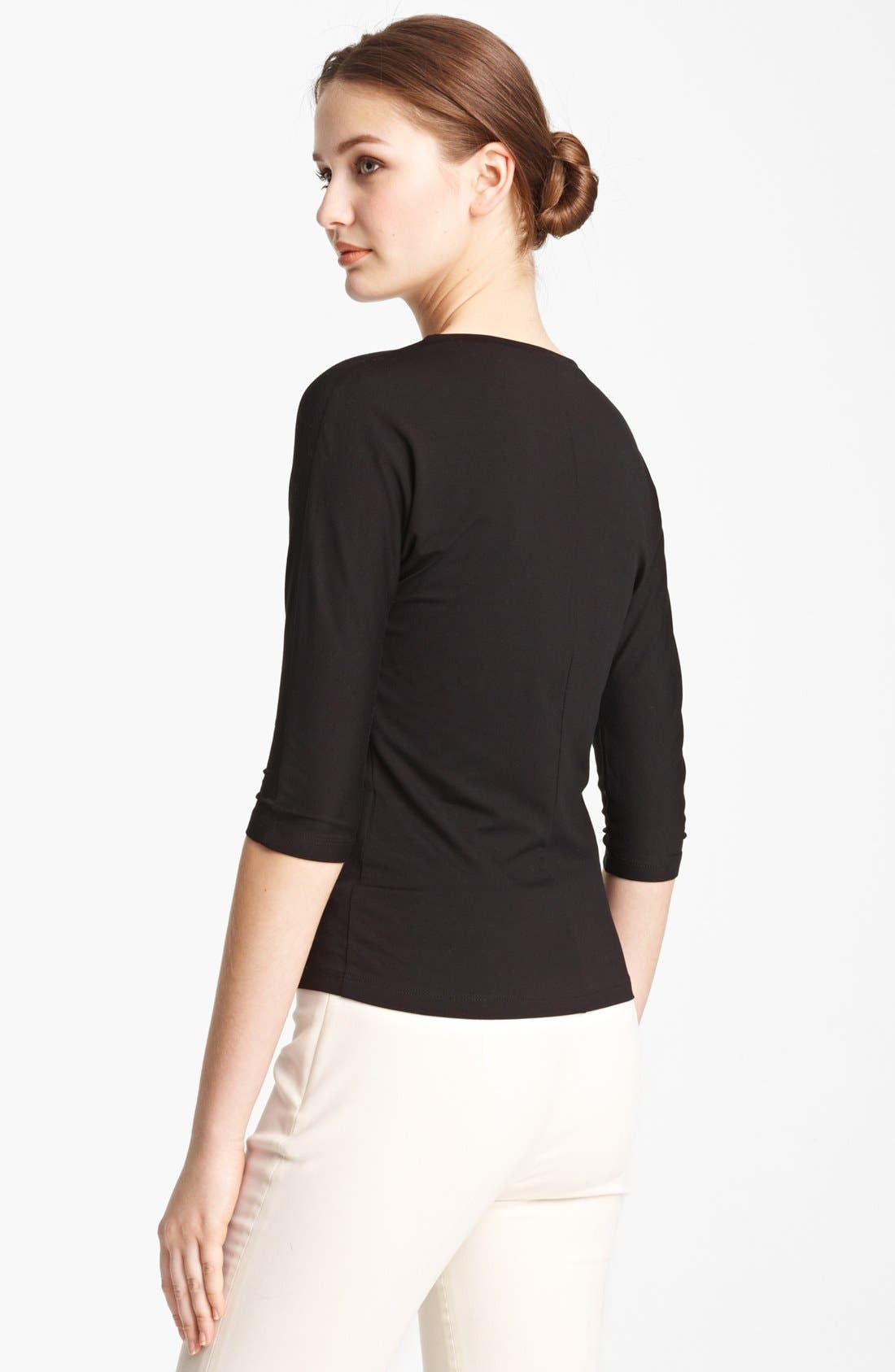 Alternate Image 2  - Max Mara 'Circe' Scoop Neck Jersey Tee