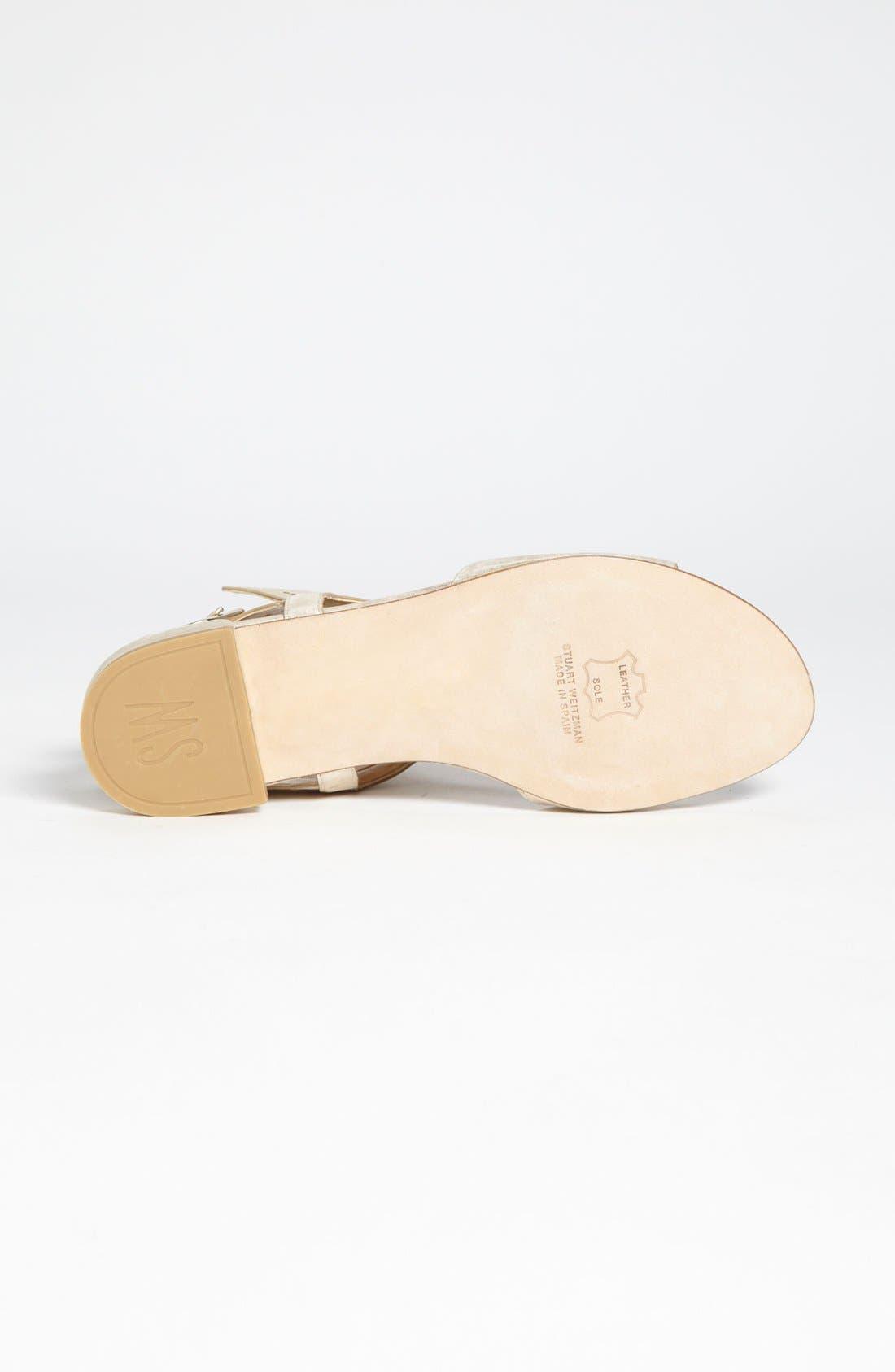 Alternate Image 4  - Stuart Weitzman 'Cuffy' Sandal