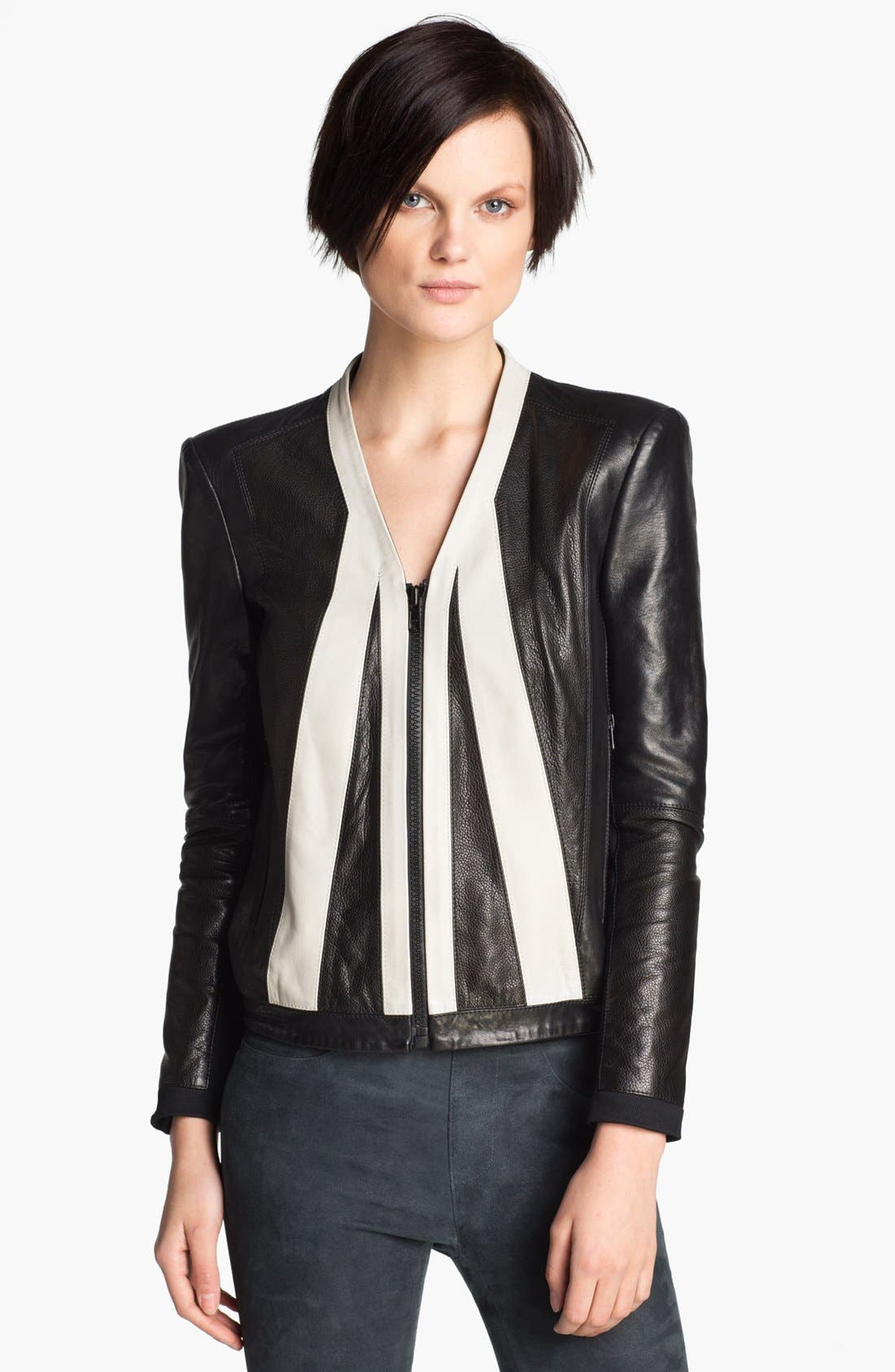 Alternate Image 1 Selected - Helmut Lang 'Evolution' Leather Jacket